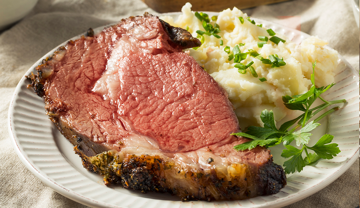 Sous Vide Cooked Prime Rib
