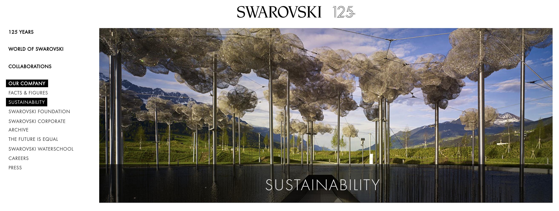 Swarovski sustainability