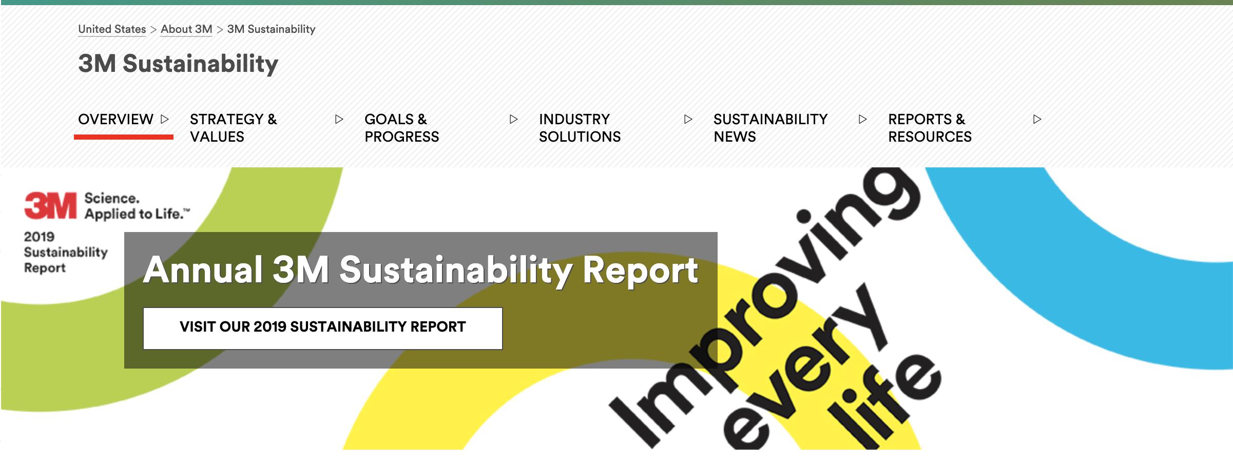 3M Sustainability