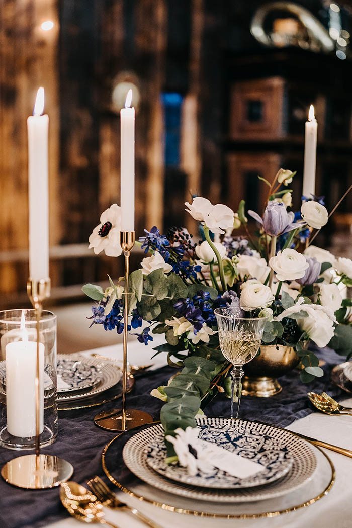 Tisch Dekoration Hochzeit Bordeaux