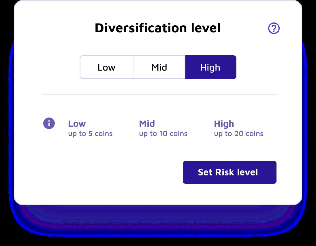 cryptocurrency portfolio diversification