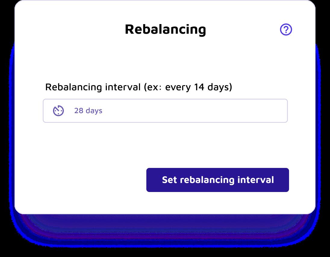 cryptocurrency rebalancing tool