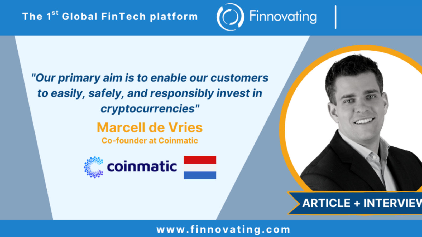 Finnovating Coinmatic cryptocurrency banks