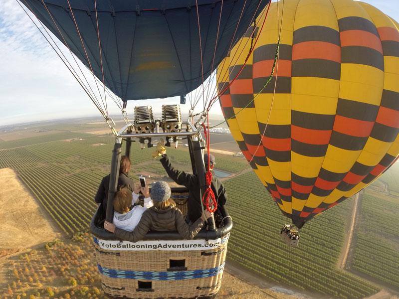 Hot Air Balloon Rides California