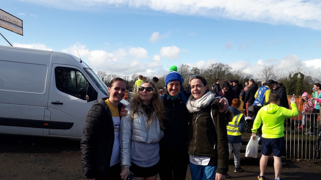 1st Place for Brothers Pearse Ladies Team in Bohermeen ½ Mara