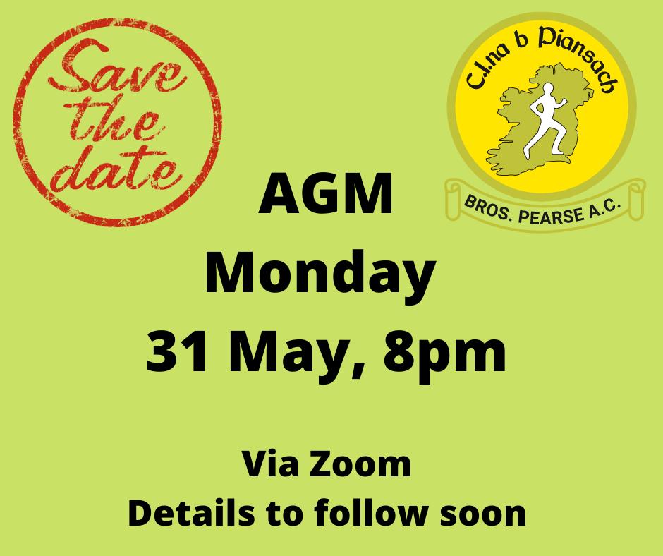 AGM Date Announced