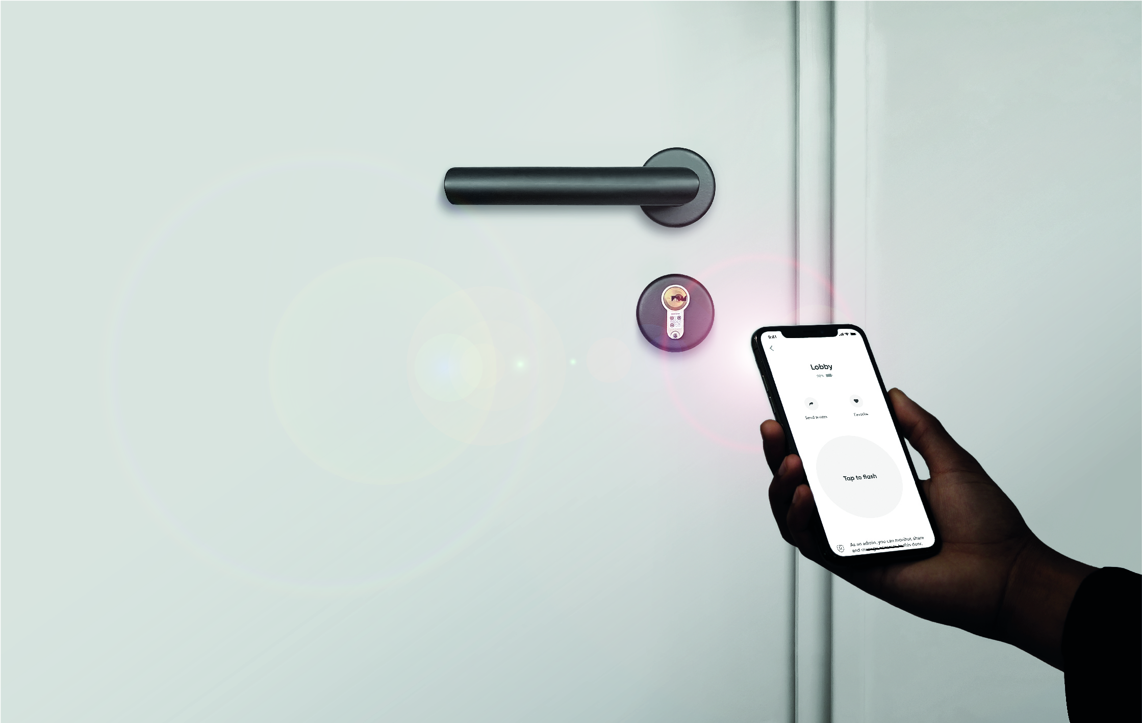 BrightLock is a mobile smart access control solution