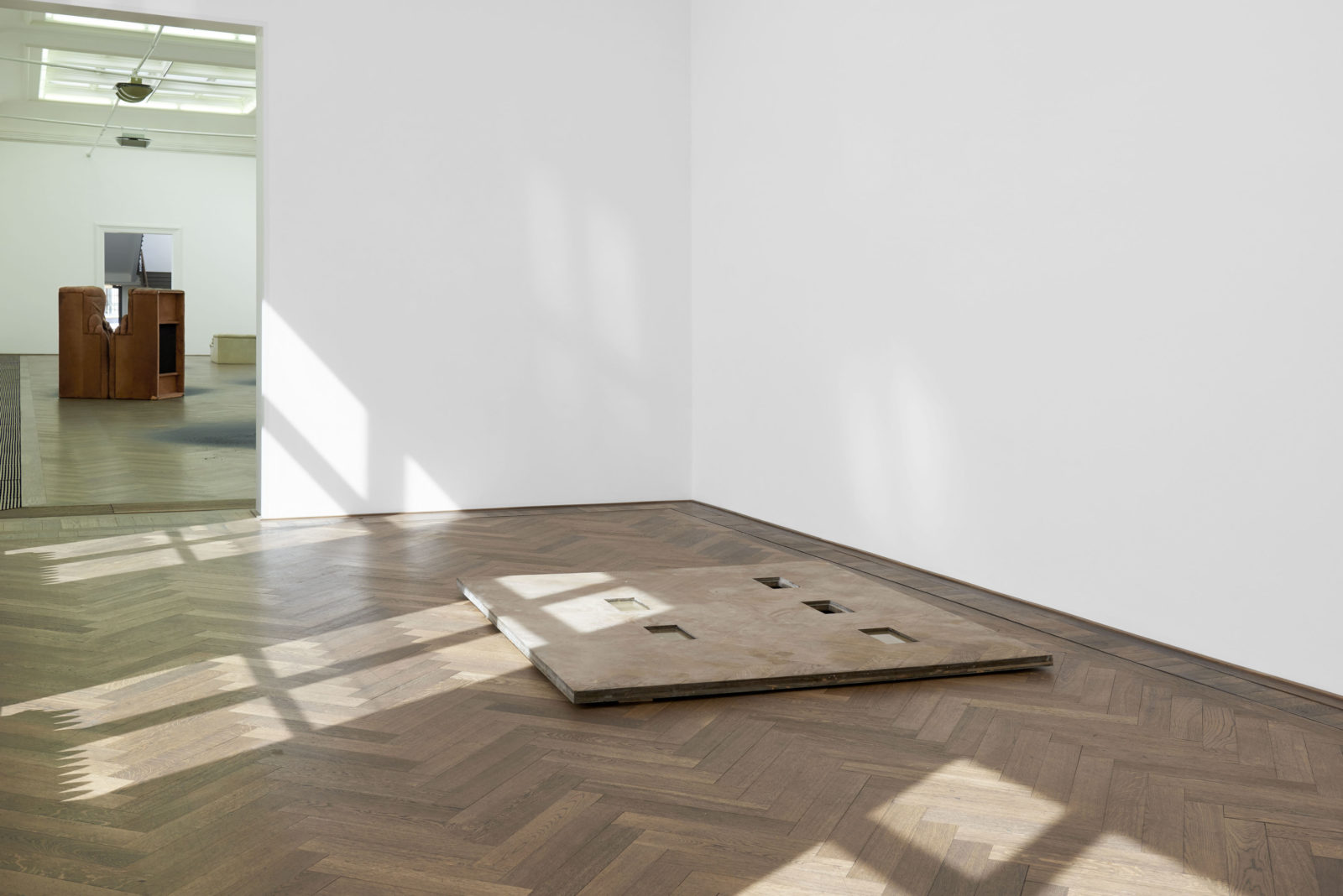 Installation View, Dora Budor at Kunsthalle Basel