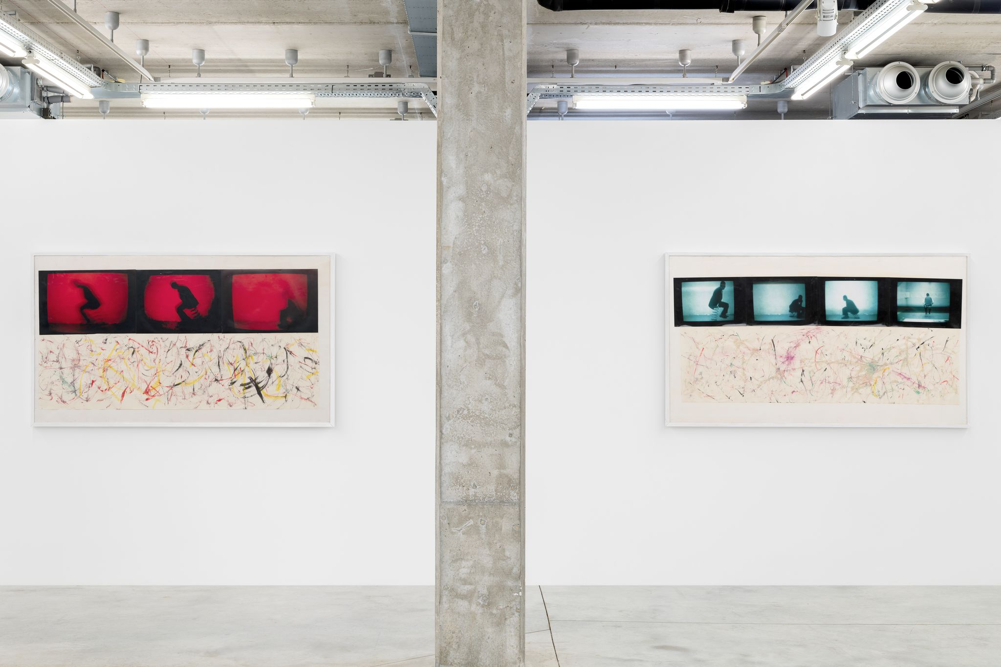 Installation View, Rudolf Polanszky, Chimera, Almine Rech Brussels, October 14, 2019 — December 21, 2019. © Courtesy of the Artist and Almine Rech - Photo: Hugard & Vanoverschelde
