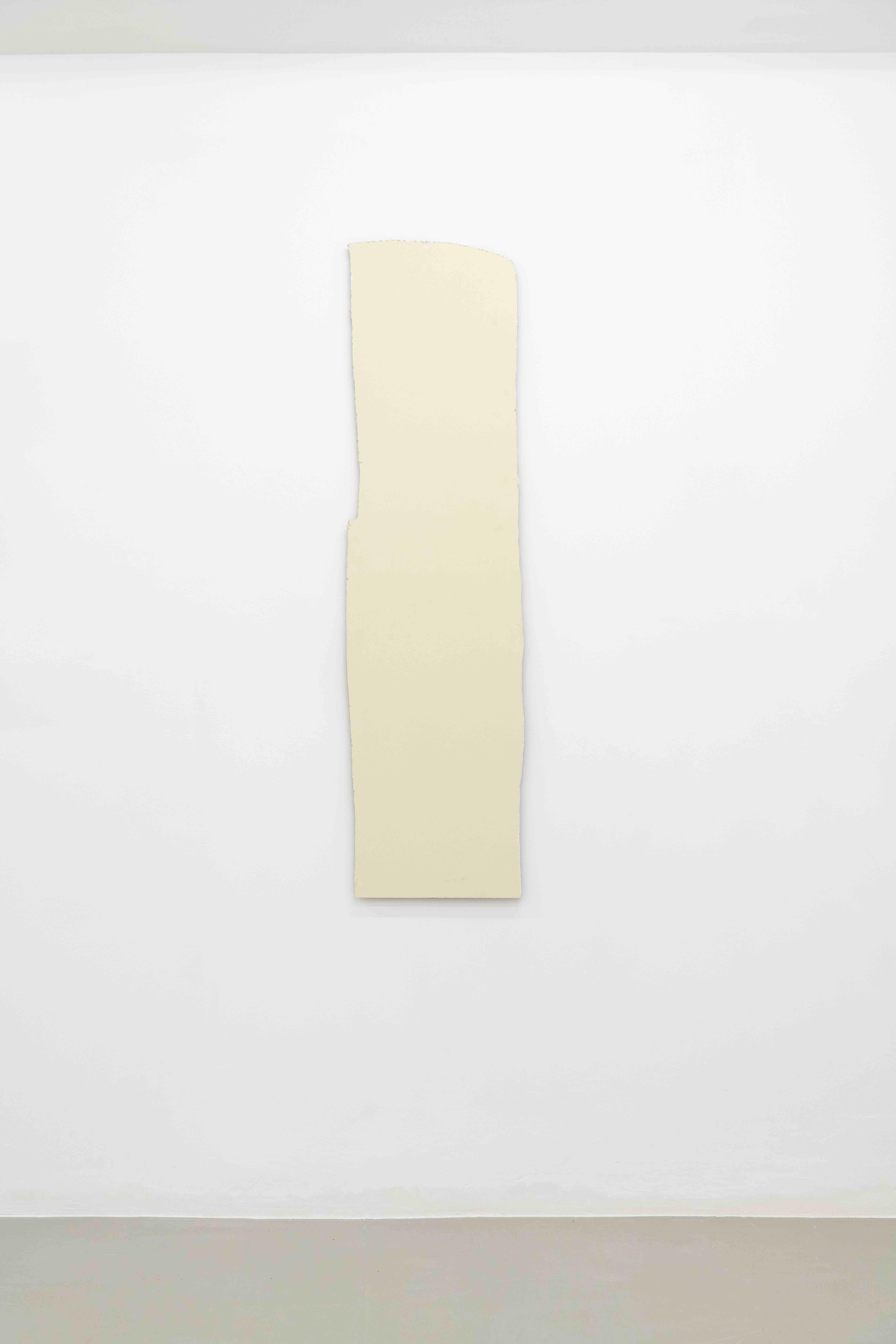 Plamen Dejanoff, Untitled (Palais Slav) 2019, Plasterboard wall, 184 x 47cm, Galerie Emanuel Layr Rome