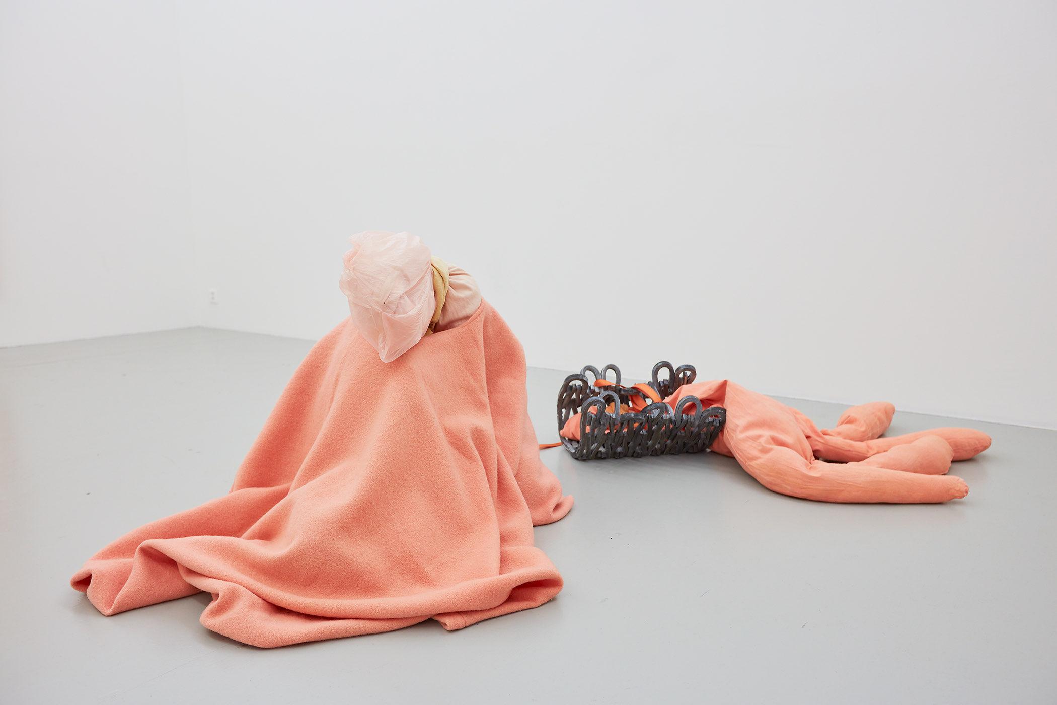 Installation Views: SALTS, Birsfelden Exhibition: TEETH & LIGHTNING Megan Rooney Curated by Samuel Leuenberger Exhibition. Installation shots: Moritz Schermbach Photography Courtesy: SALTS & the Artist