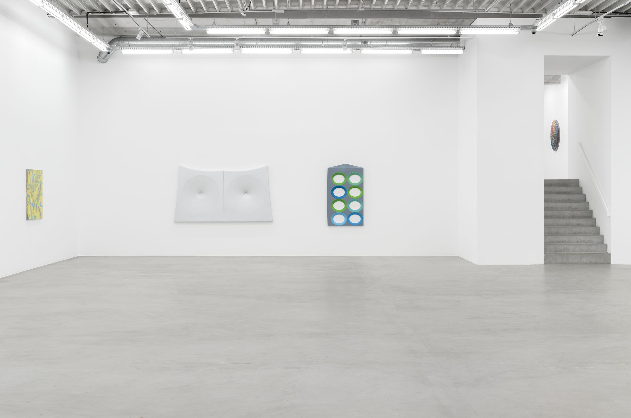 Installation View, Pink Noise, Almine Rech Brussels, January 09 – February 01, 2020