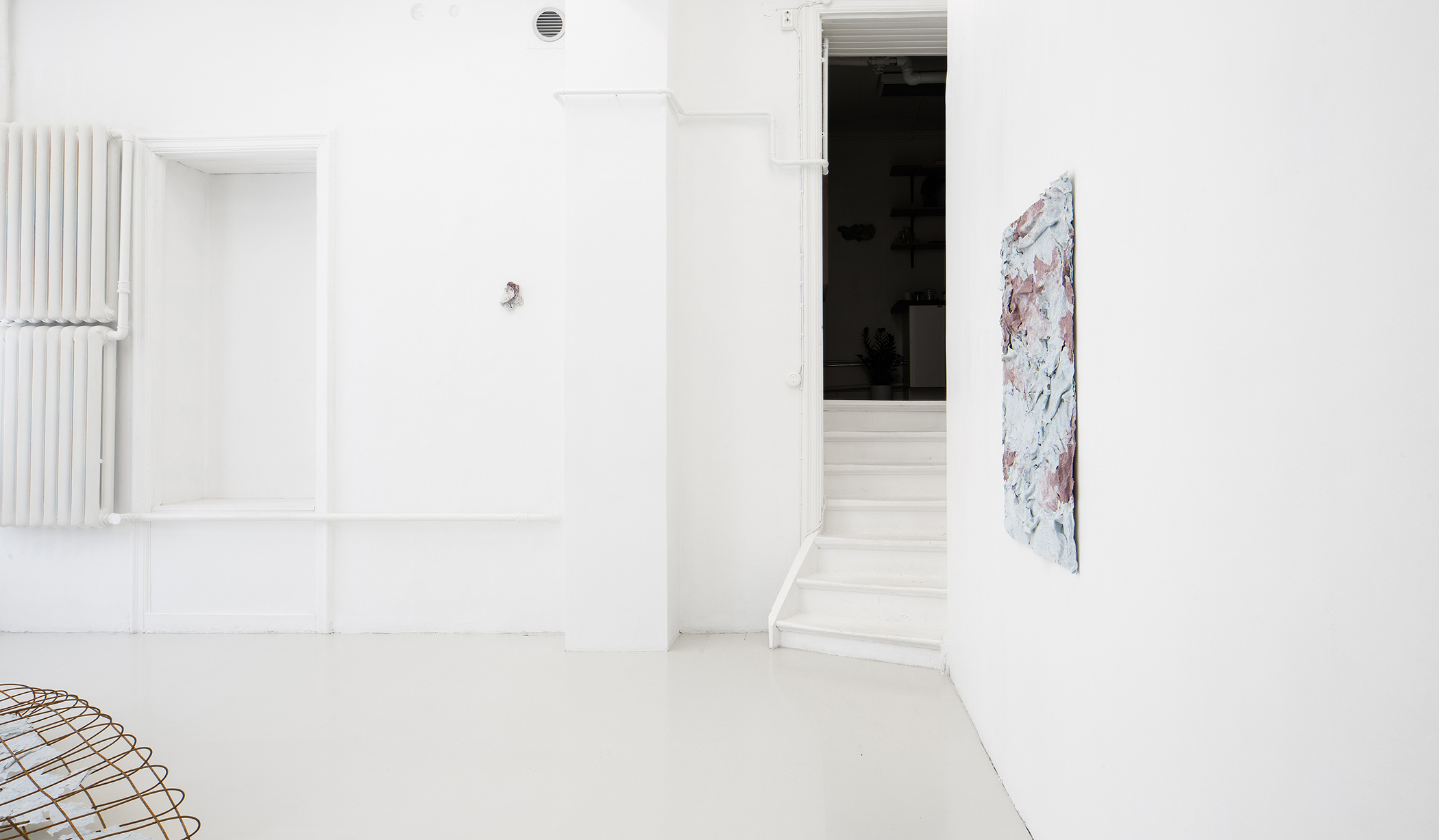 Installation View, Fanny Hellgren, Withering Postures at NEVVEN Gallery
