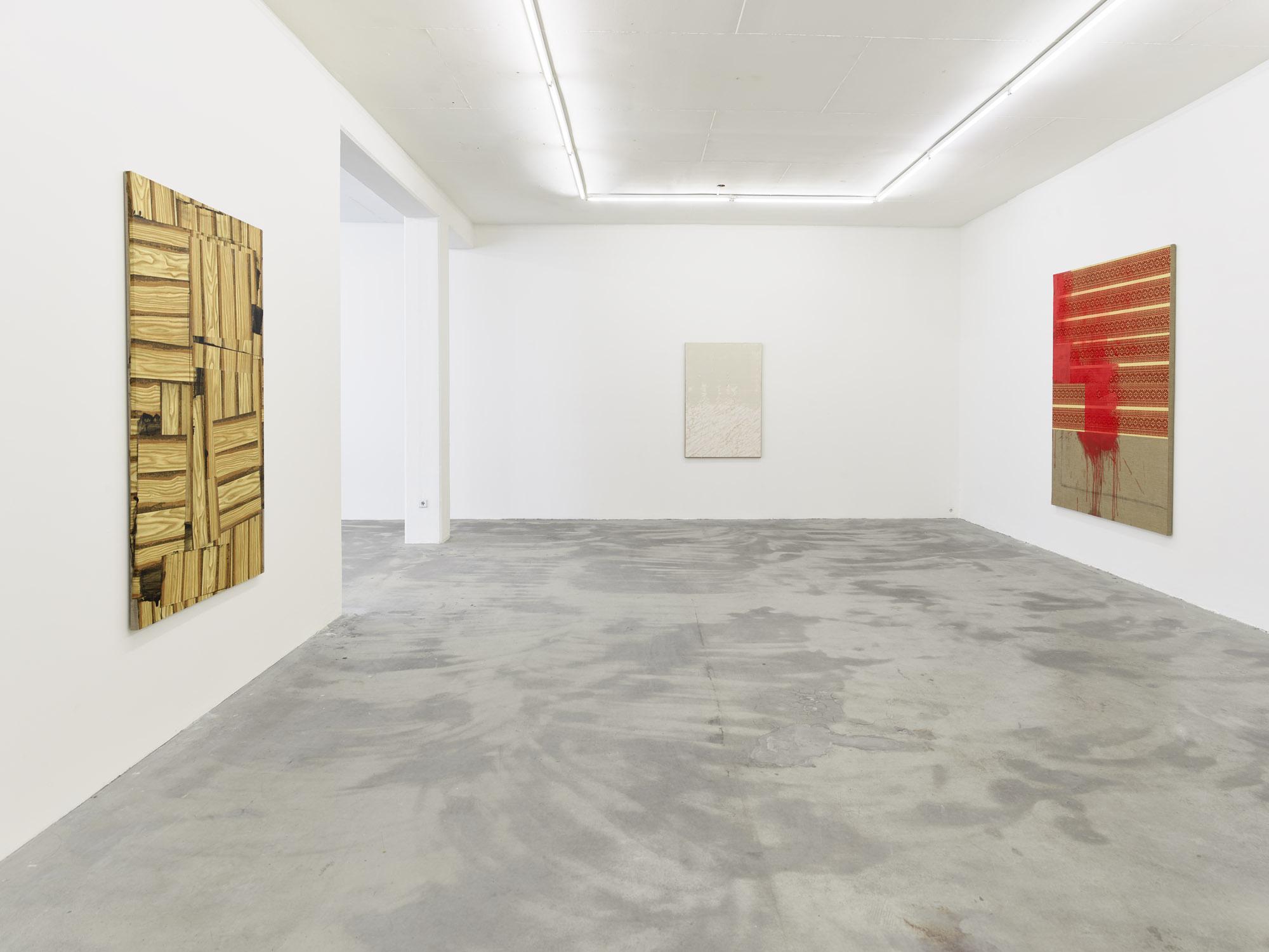 LOKALKOLORIT, 2020, exhibition view Klemm's, Berlin