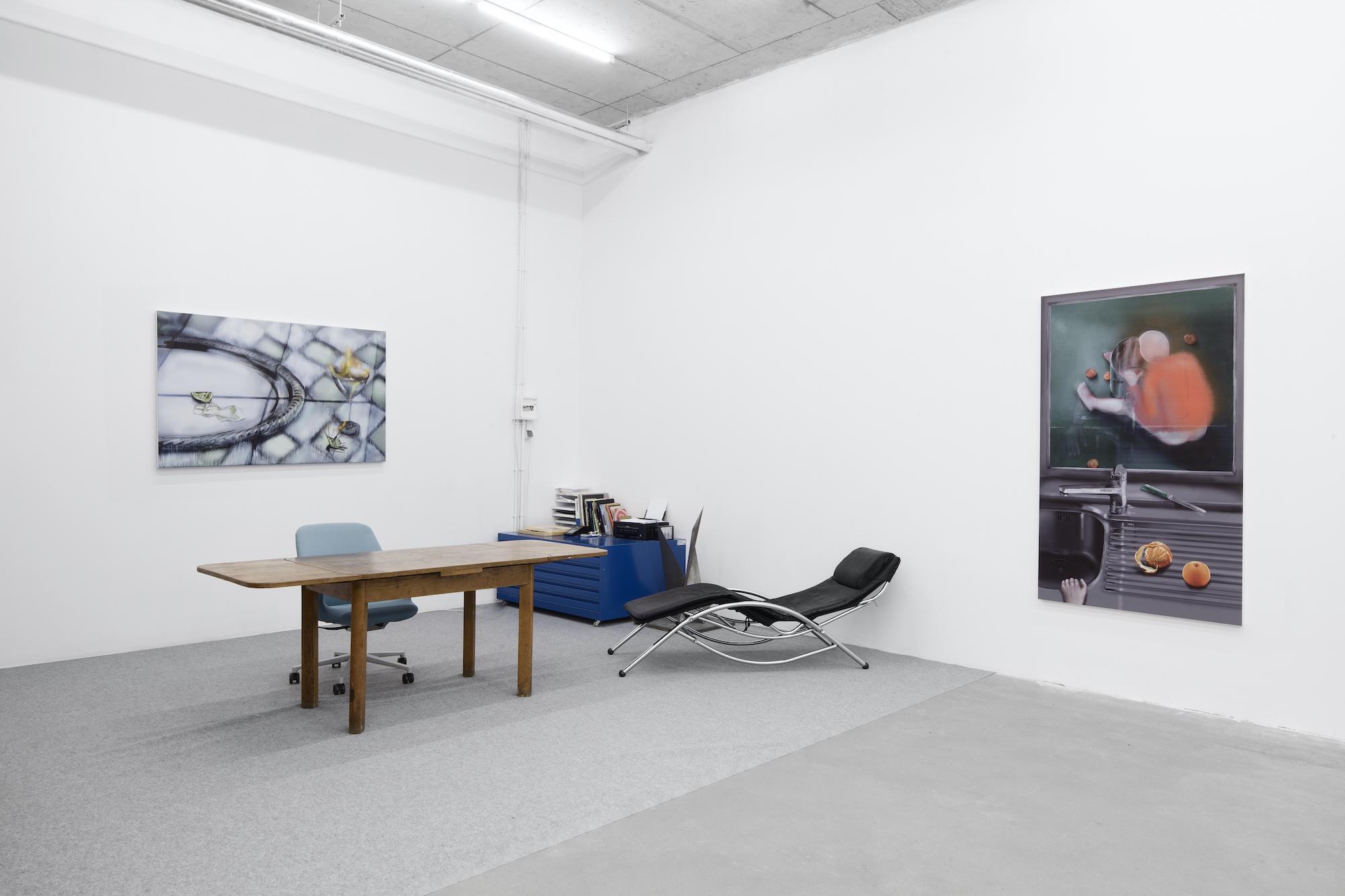 Installation view, Louisa Gagliardi at Dawid Radziszewski Gallery, images courtesy of Dawid Radziszewski Gallery