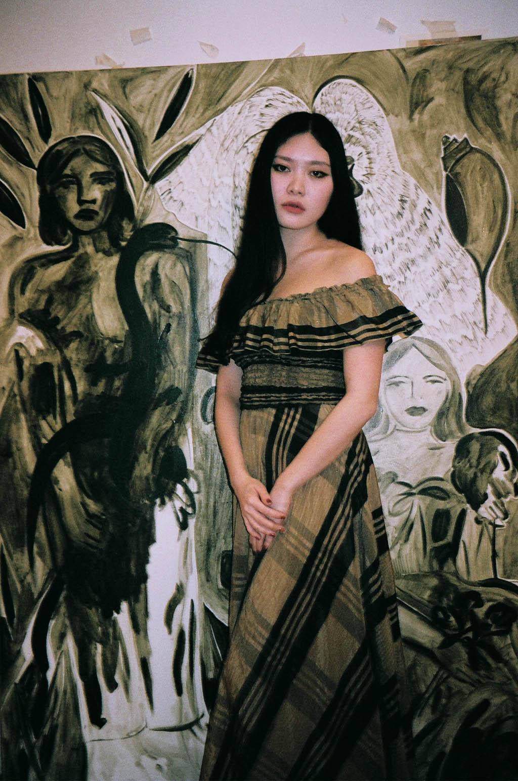 Faye Wei Wei London art studio interview