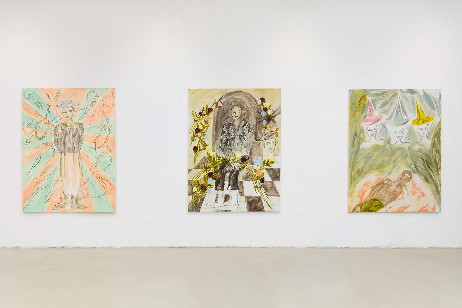 Installation view: If You Sat For Long Enough You Could See A Flower Bloom, 2020