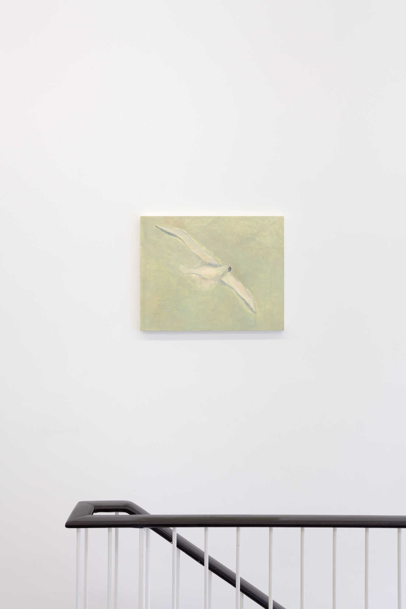 Guy Van Bossche, Untitled (Bird), The Collectors Mind, 2020 Oil on canvas 47,3 x 59,6 cm, Photo by Pieter Huybrechts.