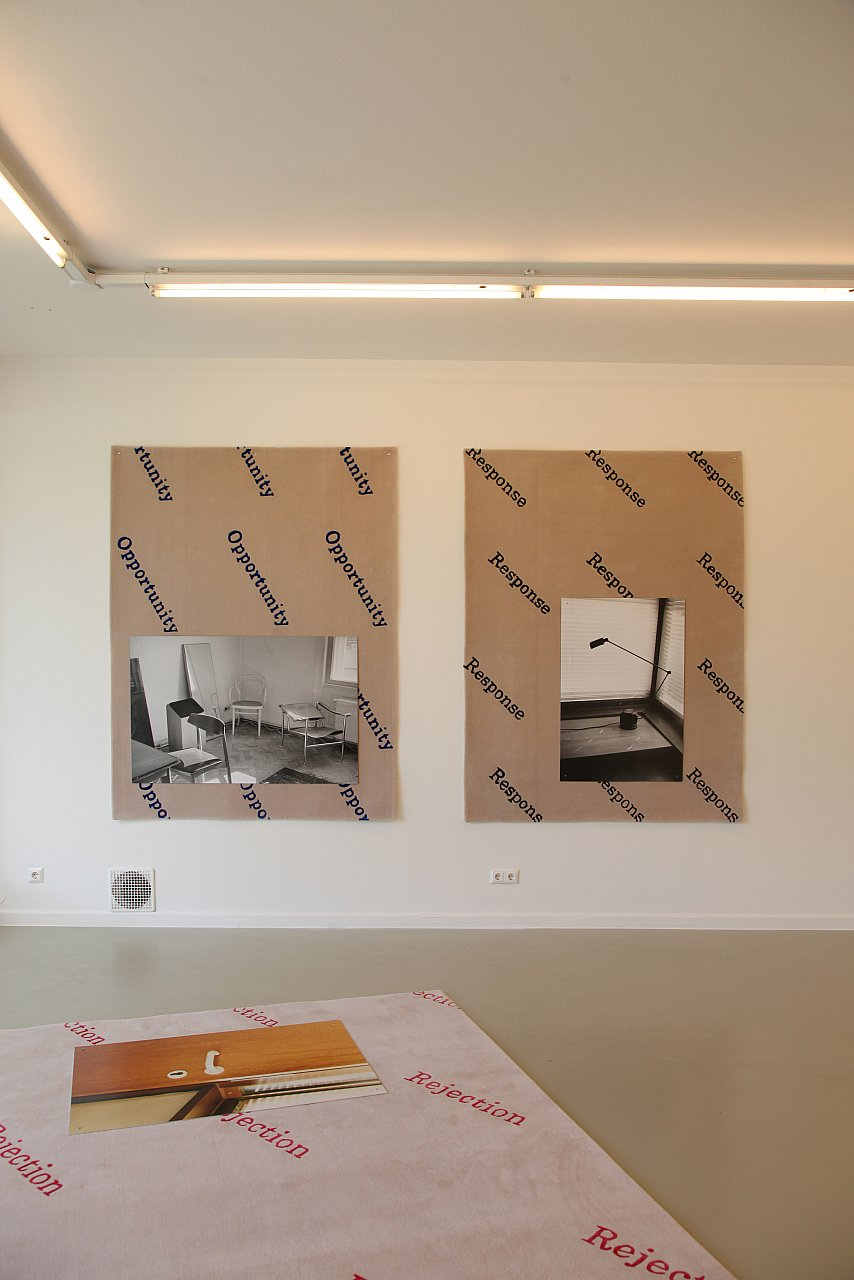 Rosa Rendl, REJECTION, Kunstraum Weikendorf, 2019, Photo: Rosa Rendl