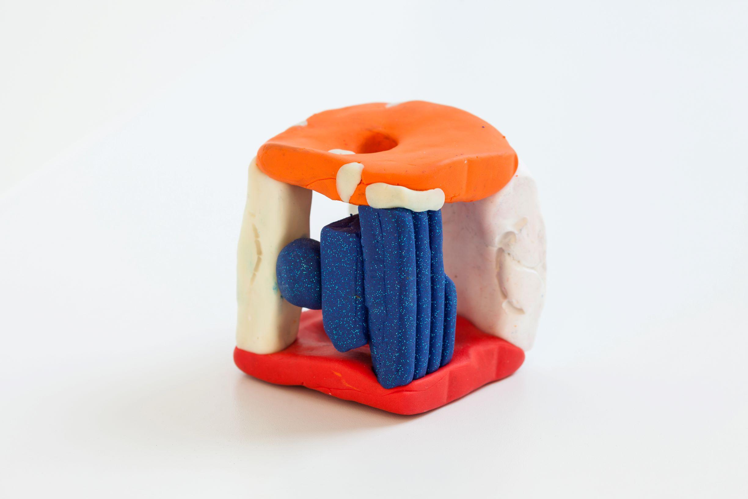 SCRIPTS, Linda Semadeni, Kirchgasse ©Björn Allemann, Model, 2019, PVC, 9 x 7 x 7cm.