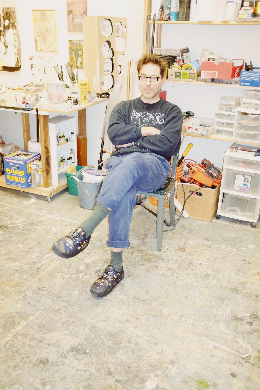 Steve Hubert art studio interview