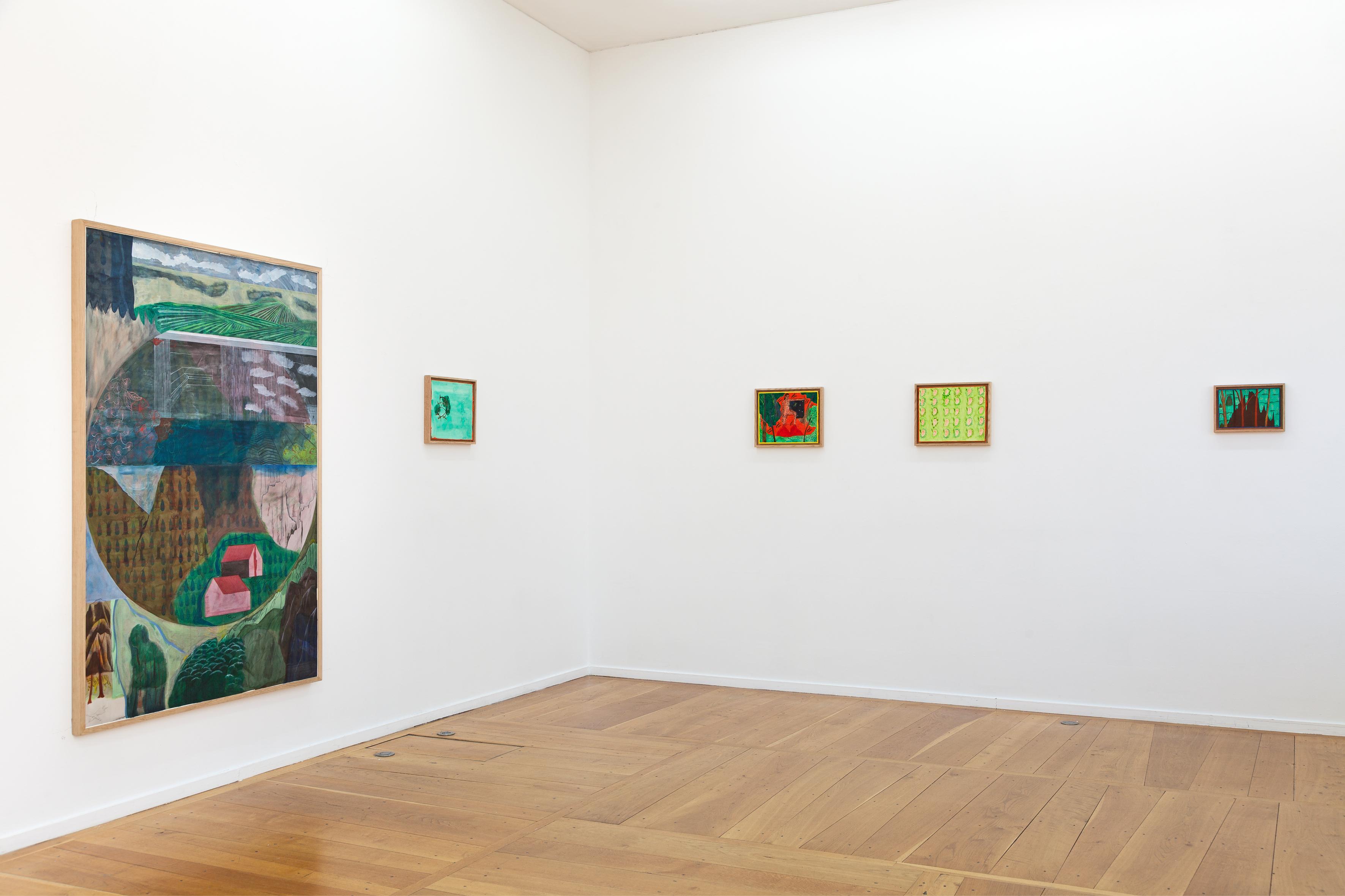 Karishma D'Souza, « Invocation », exhibition view, Xippas Paris, February 22 – July 11, 2020. Courtesy of the artist and Xippas. Photo: Fréderic Lanternier.