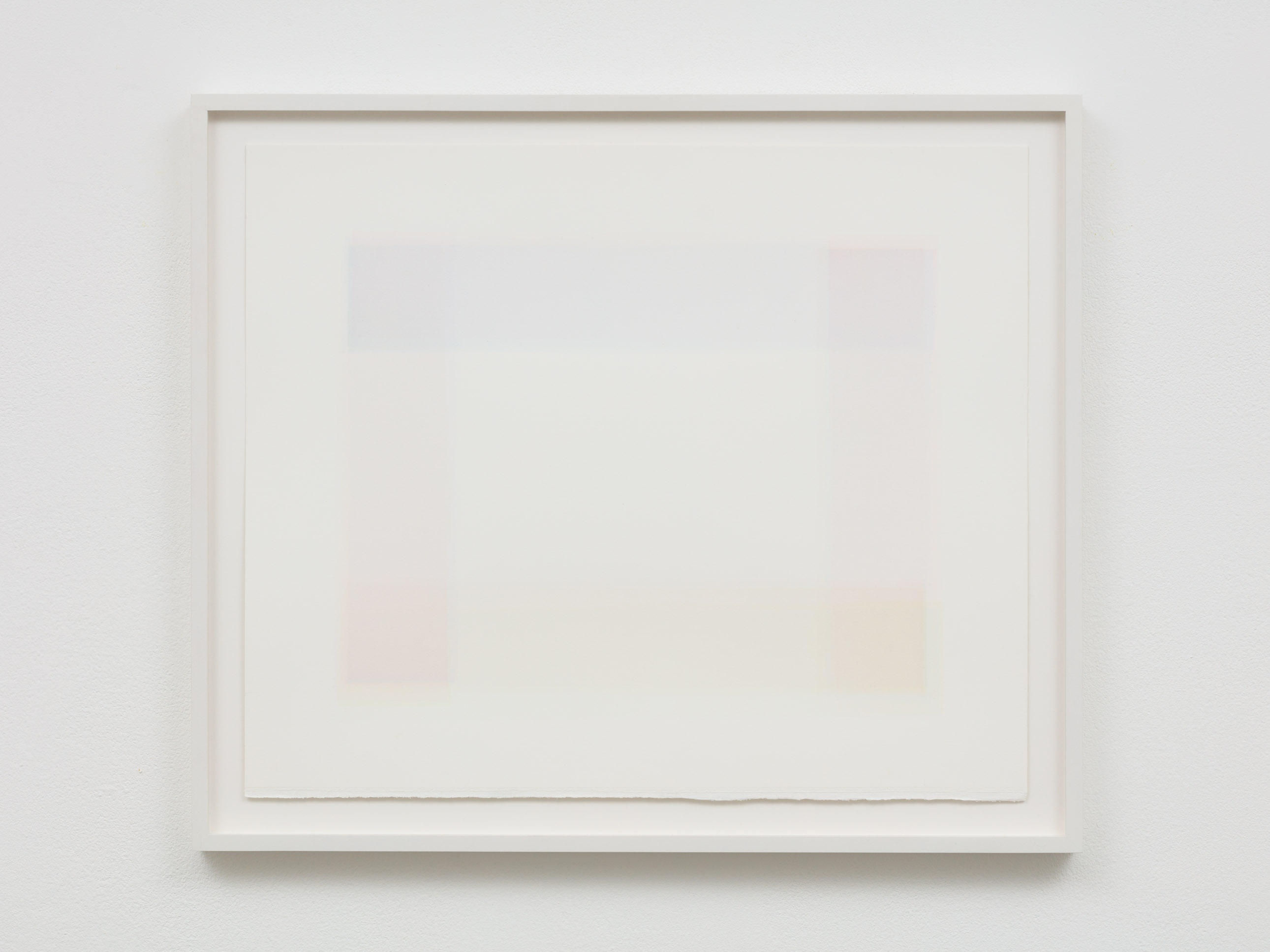 Tom Chamberlain, Ohne Titel, 2015, Watercolor on paper, 44,5 x 52,2 x 3,2 cm (framed), courtesy of Laure Genillard gallery, Image credits: Plastiques