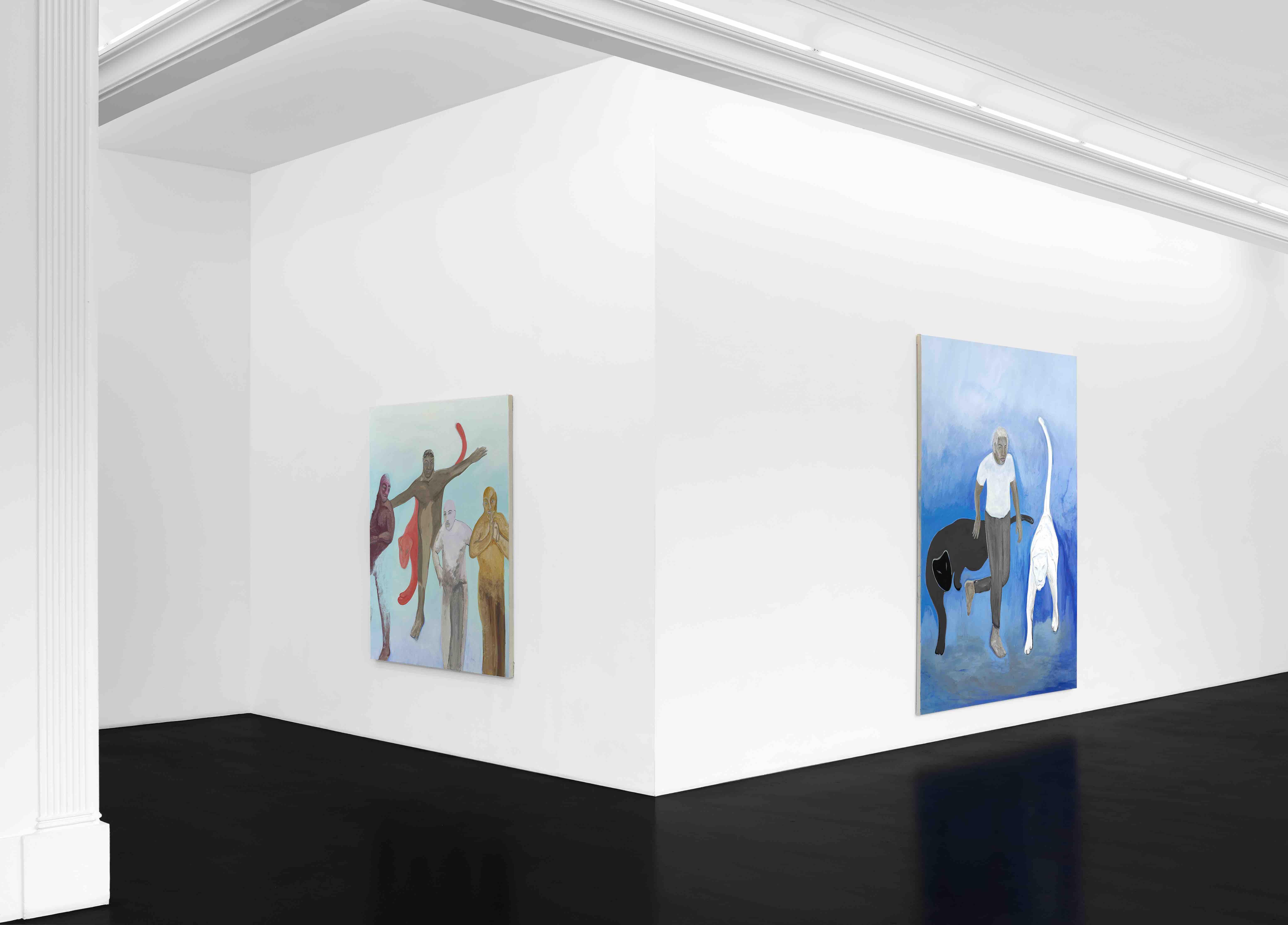 Paolo SALVADOR Alegorías Perdidas Installation View June 19 – July 31, 2020 Peres Projects, Berlin, Courtesy of Peres Projects, Berlin Photographed by: Matthias Kolb