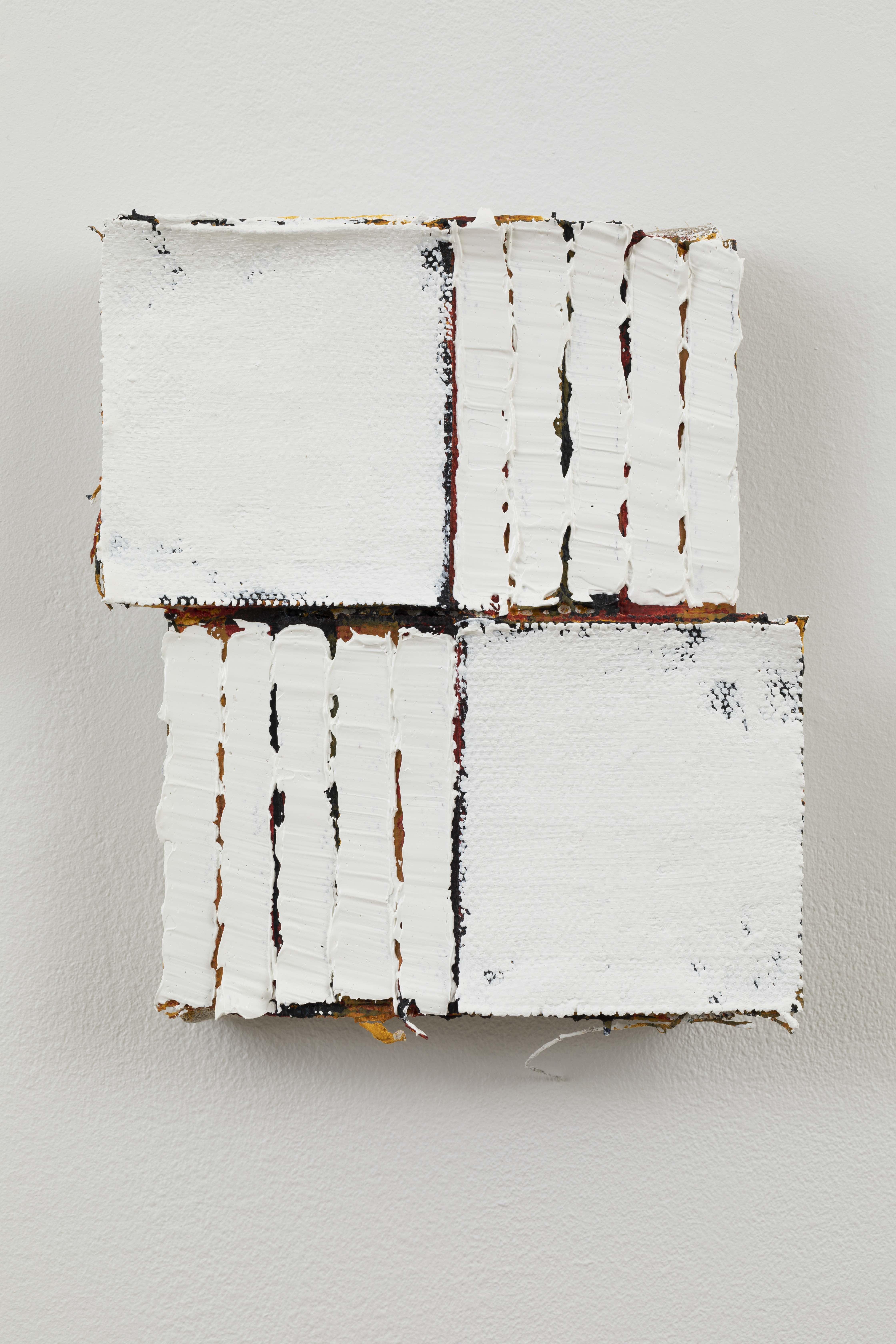Adam Winner, A Capable Being, 2020, Oil on linen, 62.20h x 50.80w x 5d cm 24.49h x 20w x 1.97d in, Angel Gil/Courtesy of Galerie Forsblom.