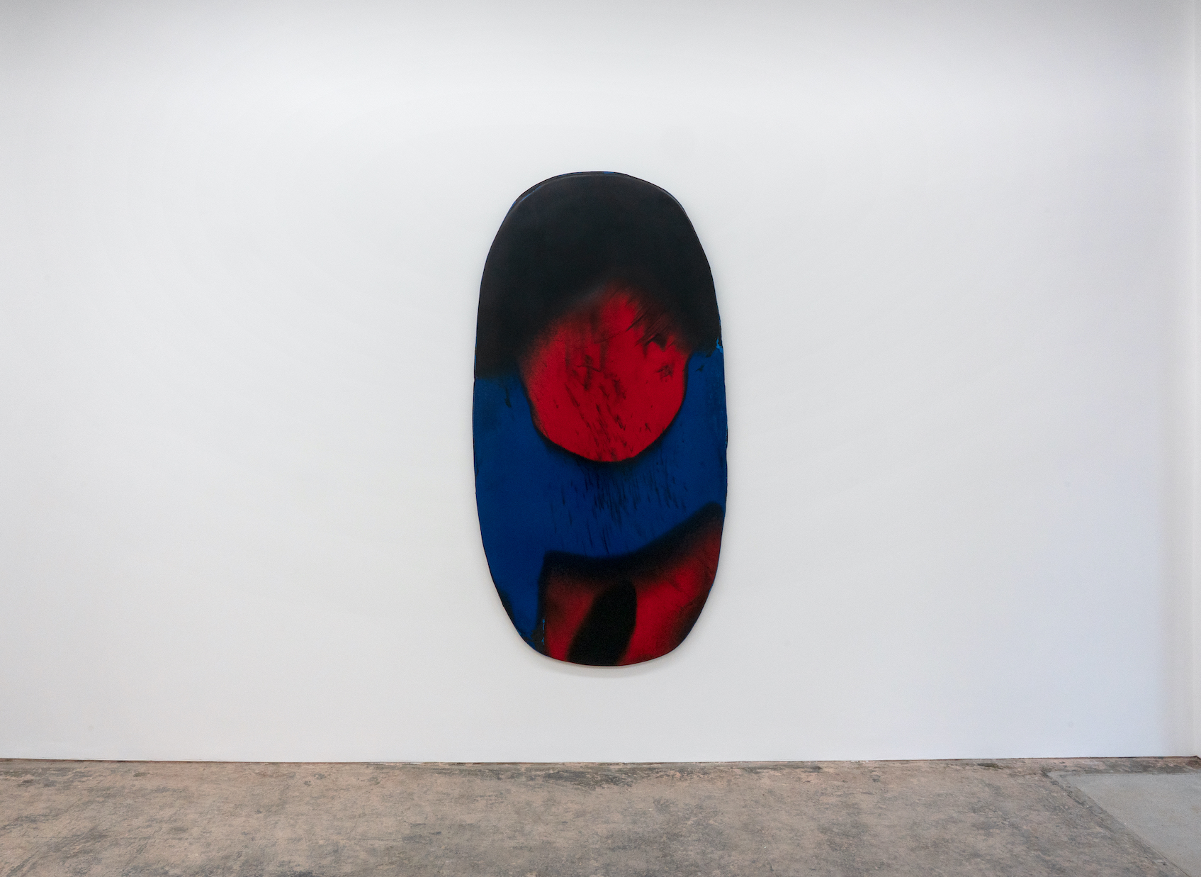 Harminder Judge, Untitled (eye over waves over rock), 2020, courtesy of the artist and PUBLIC Gallery