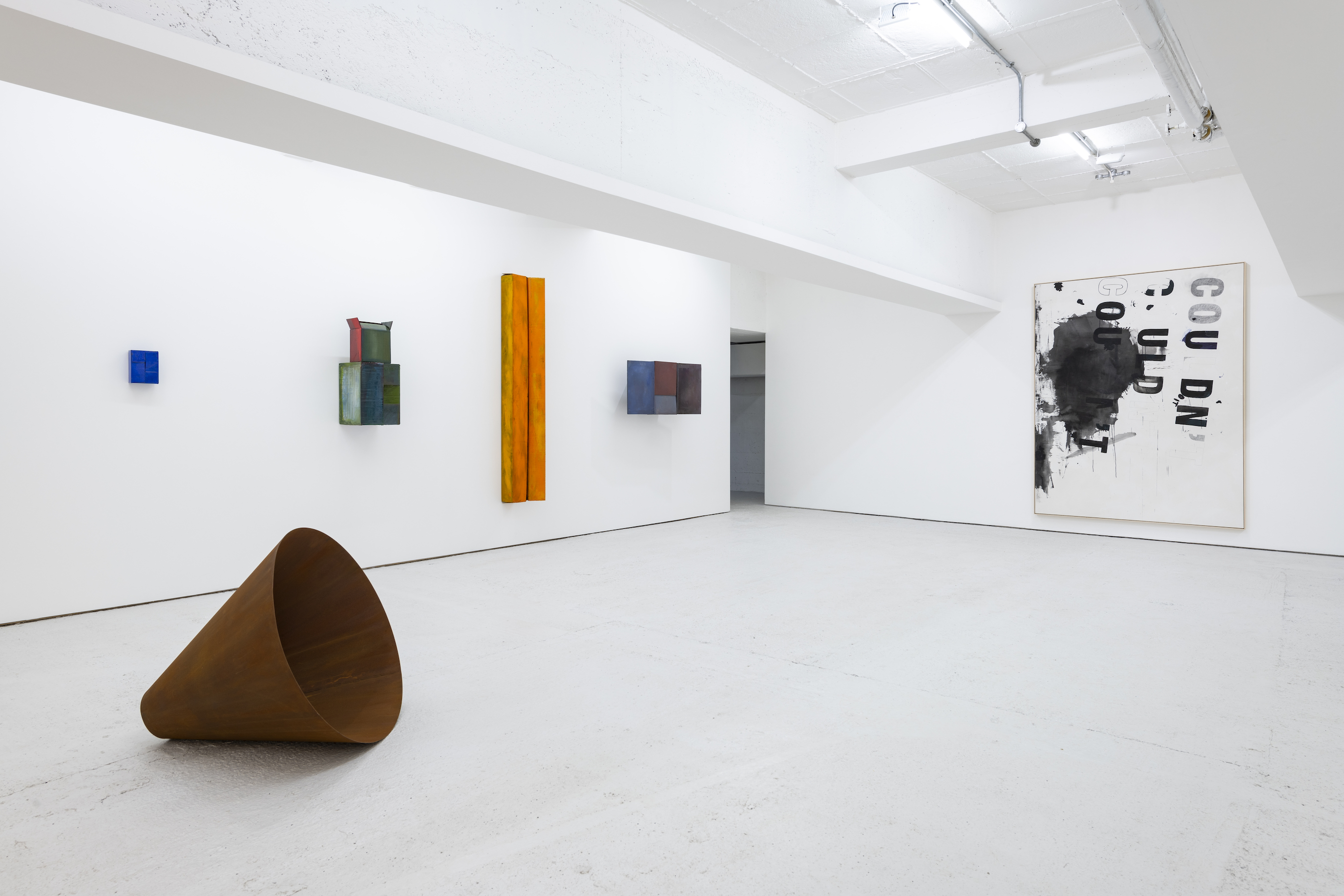 Installation view 1, Open Call, König London, 2020. photo by Damian Griffiths