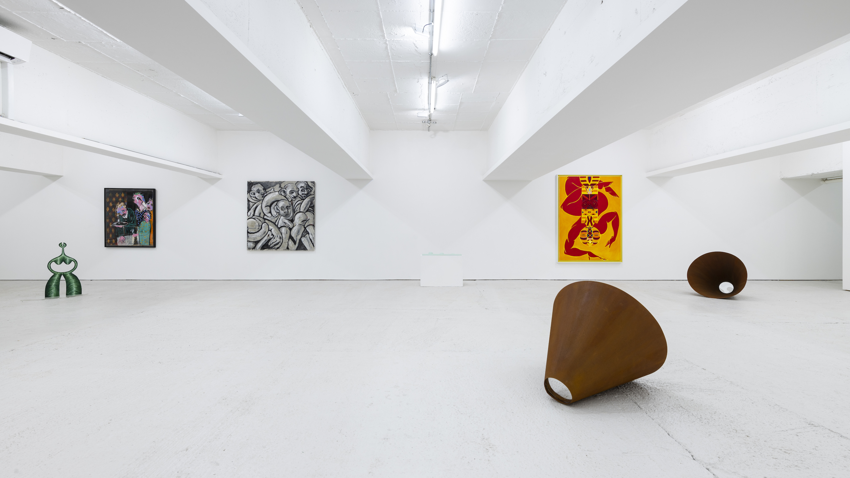 Installation view 2, Open Call, König London, 2020. photo by Damian Griffiths