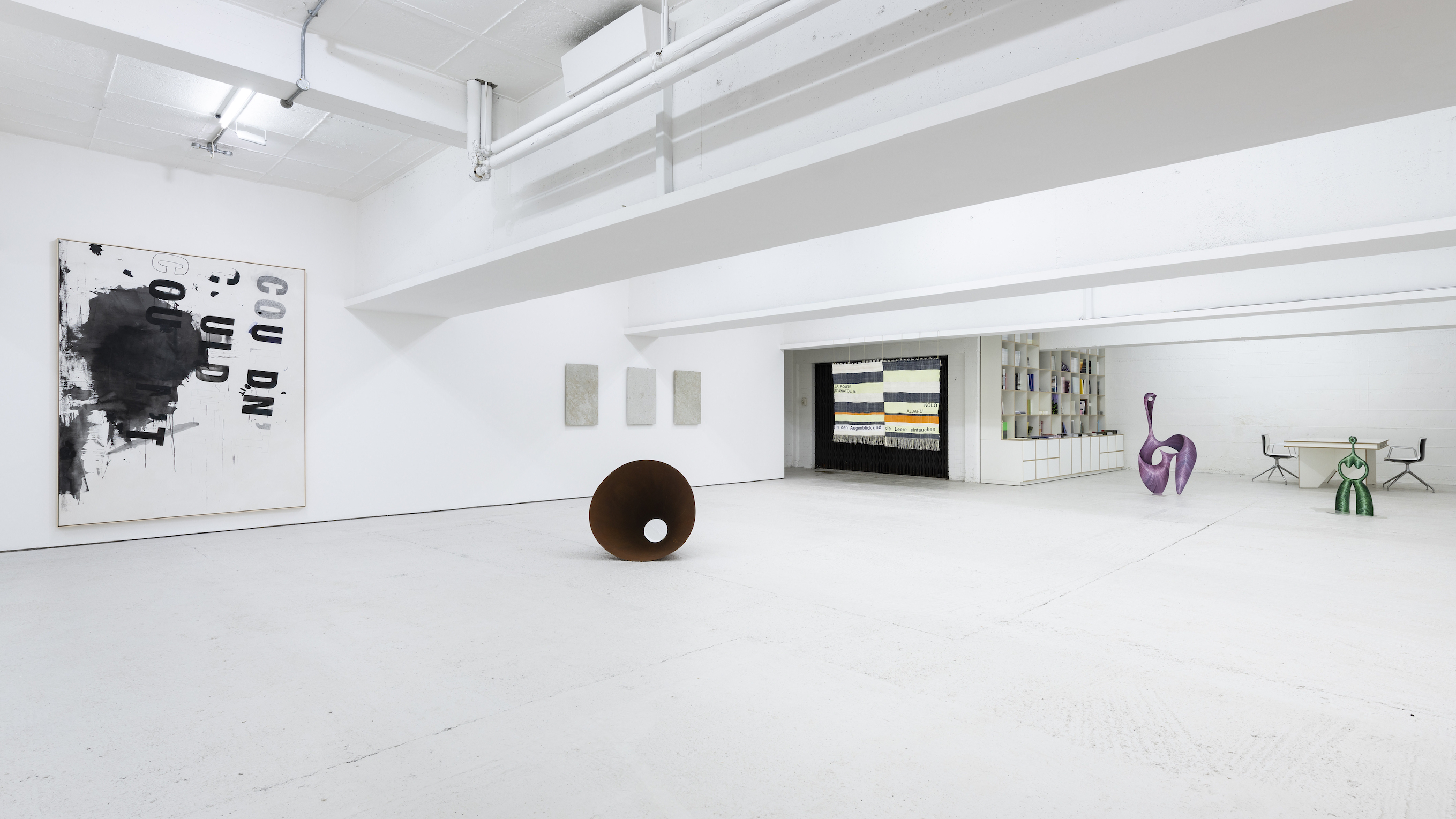 Installation view 3, Open Call, König London, 2020. photo by Damian Griffiths
