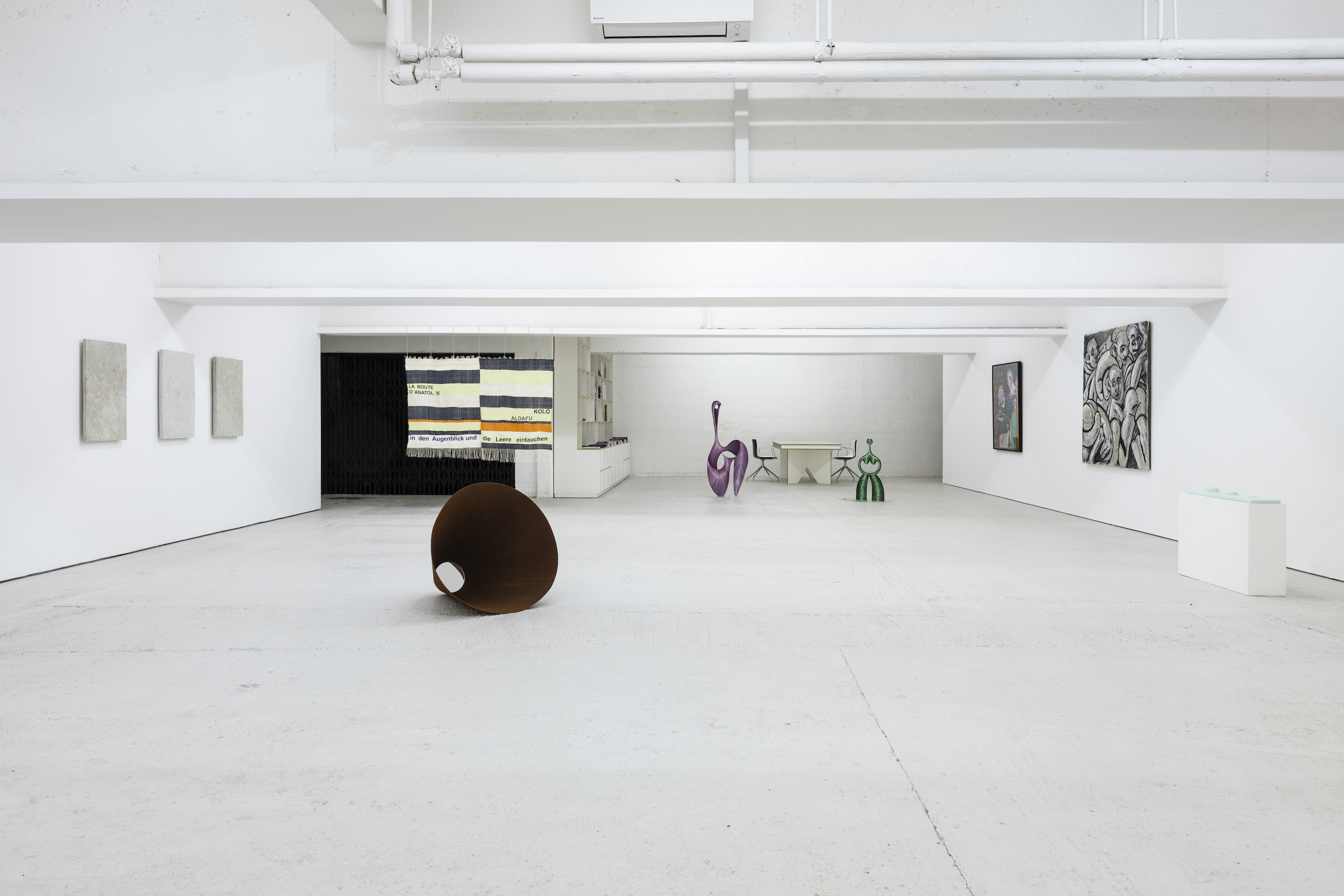 Installation view 7, Open Call, König London, 2020. photo by Damian Griffiths