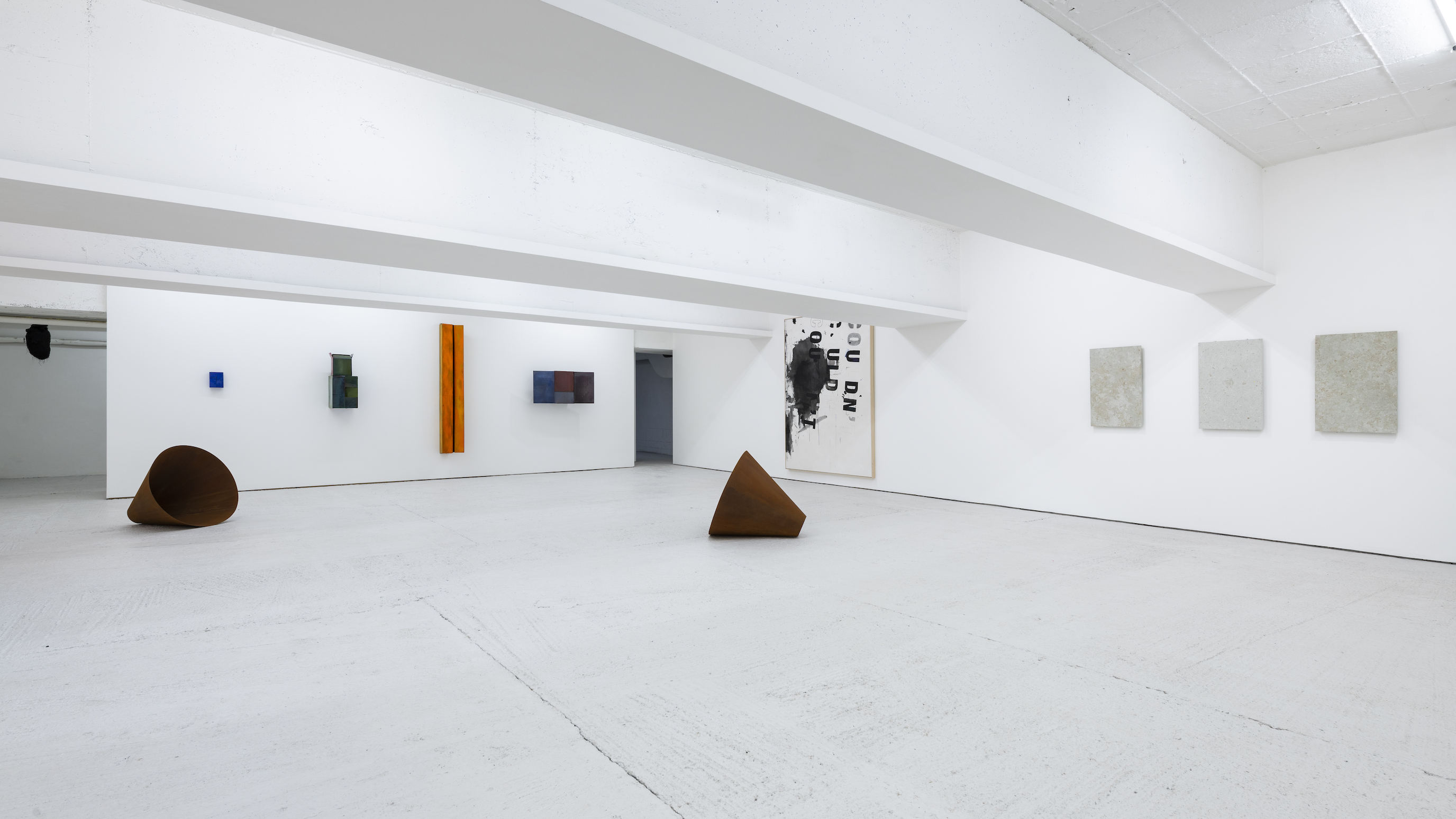 Installation view 8, Open Call, König London, 2020. photo by Damian Griffiths