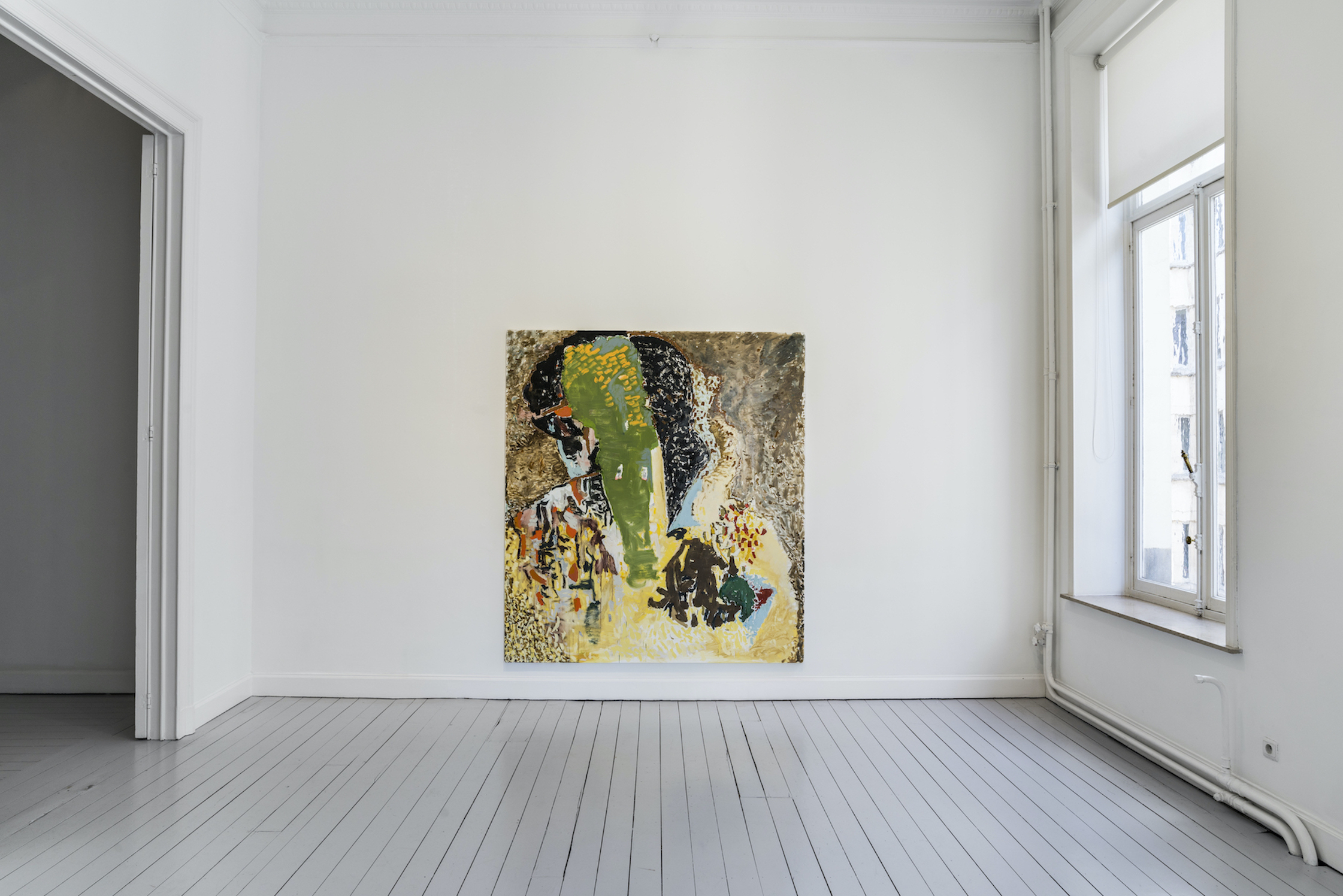 Installation View 1: Richard Aldrich, at Gladstone Gallery, Brussels, 2020 Courtesy the artist and Gladstone Gallery, New York and Brussels