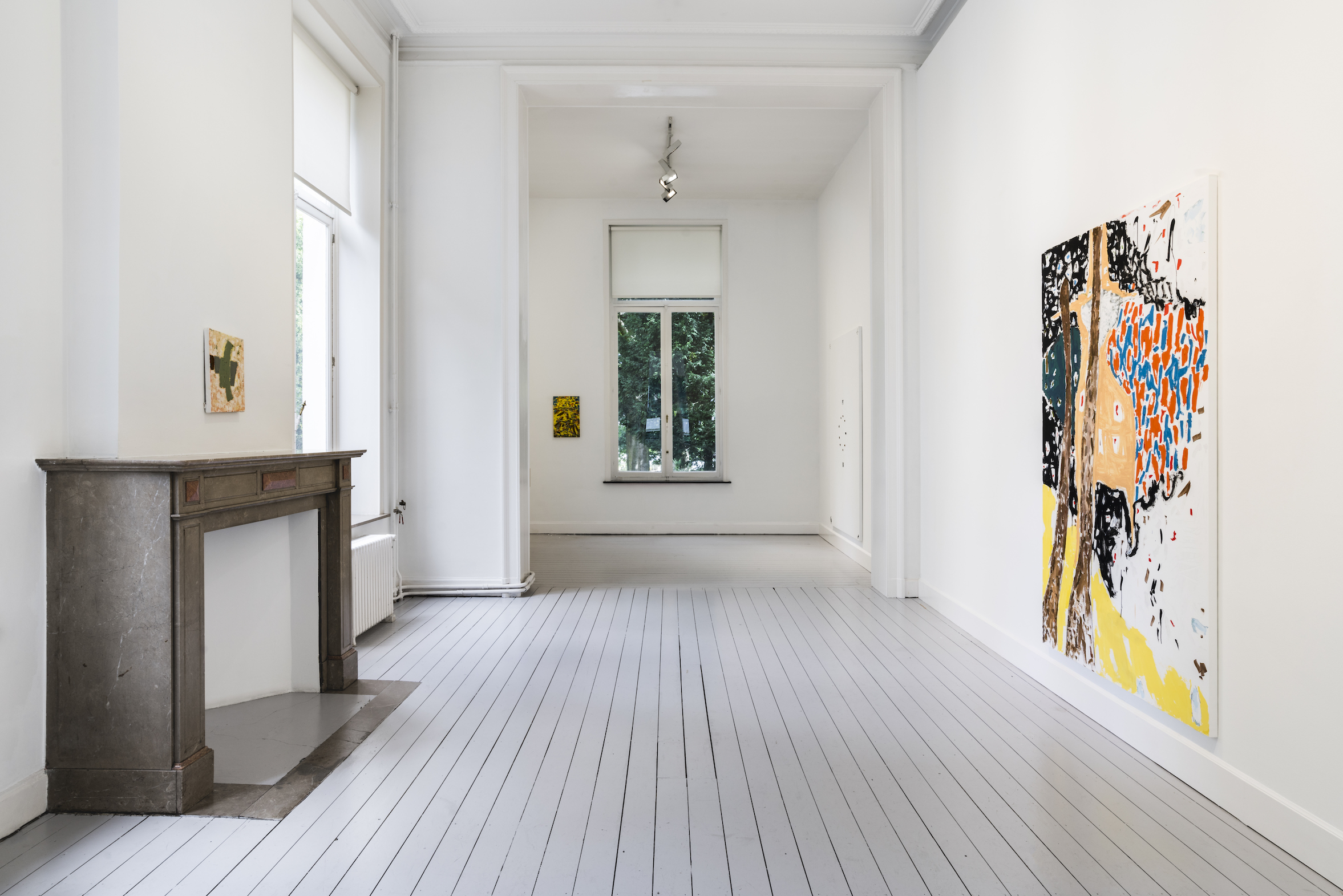 Installation View 2: Richard Aldrich, at Gladstone Gallery, Brussels, 2020 Courtesy the artist and Gladstone Gallery, New York and Brussels