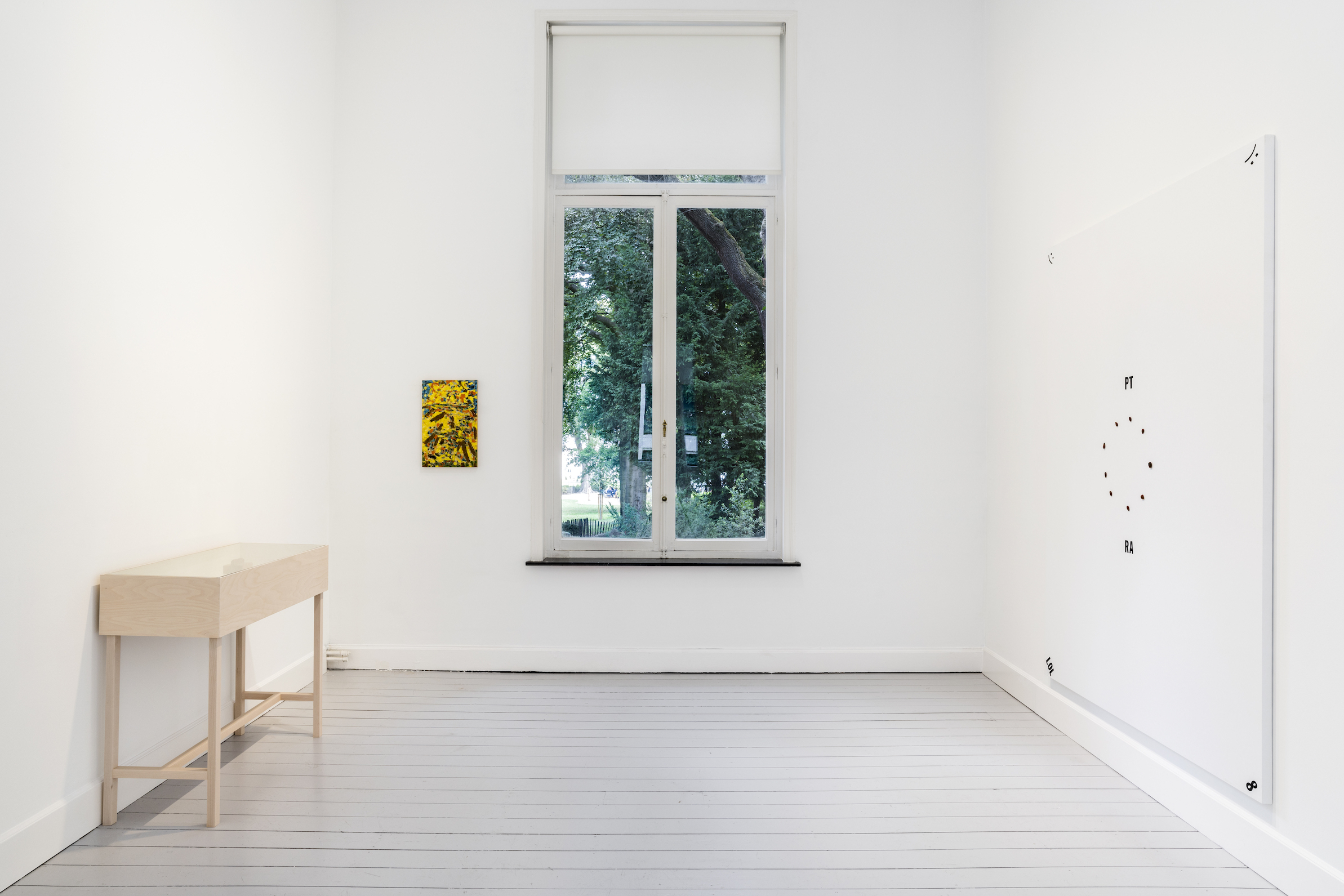 Installation View 4: Richard Aldrich, at Gladstone Gallery, Brussels, 2020 Courtesy the artist and Gladstone Gallery, New York and Brussels