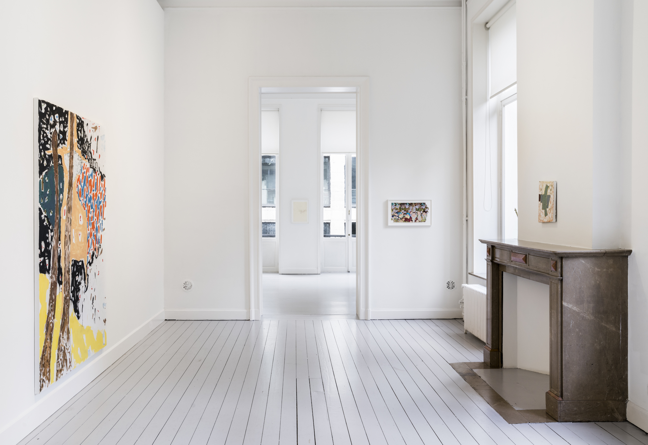 Installation View 7: Richard Aldrich, at Gladstone Gallery, Brussels, 2020 Courtesy the artist and Gladstone Gallery, New York and Brussels