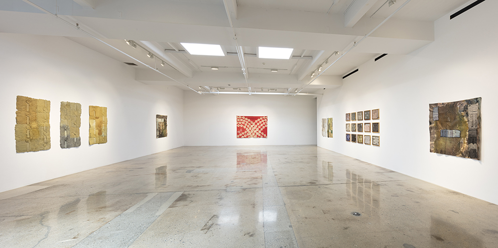Installation view / Aryana Minai / The Dirt that Binds Me / Steve Turner / Courtesy of the artist and Steve Turner, Los Angeles