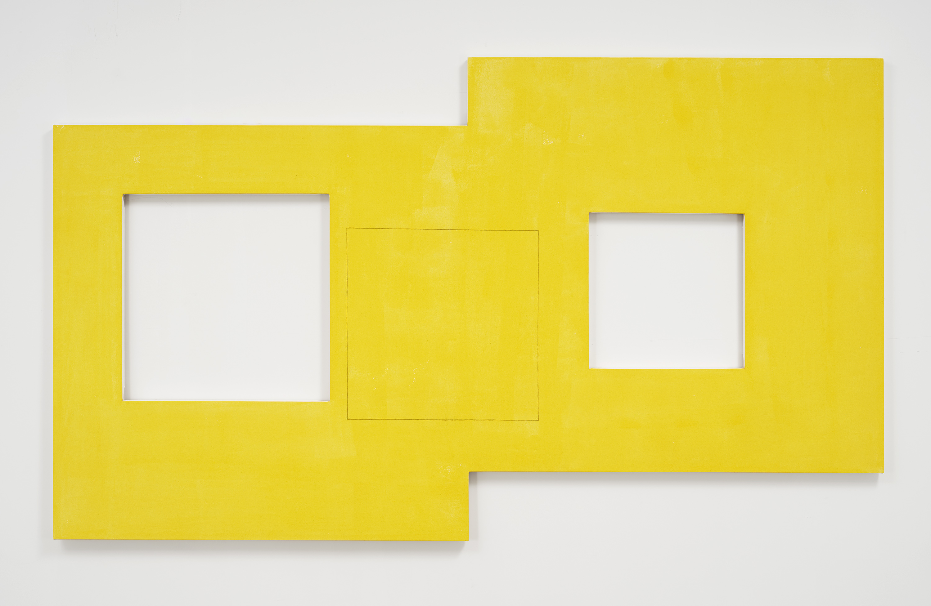 Robert Mangold 3 Squares Within a Double Square II, 2017 © 2020 Robert Mangold / Artists Rights Society (ARS), New York