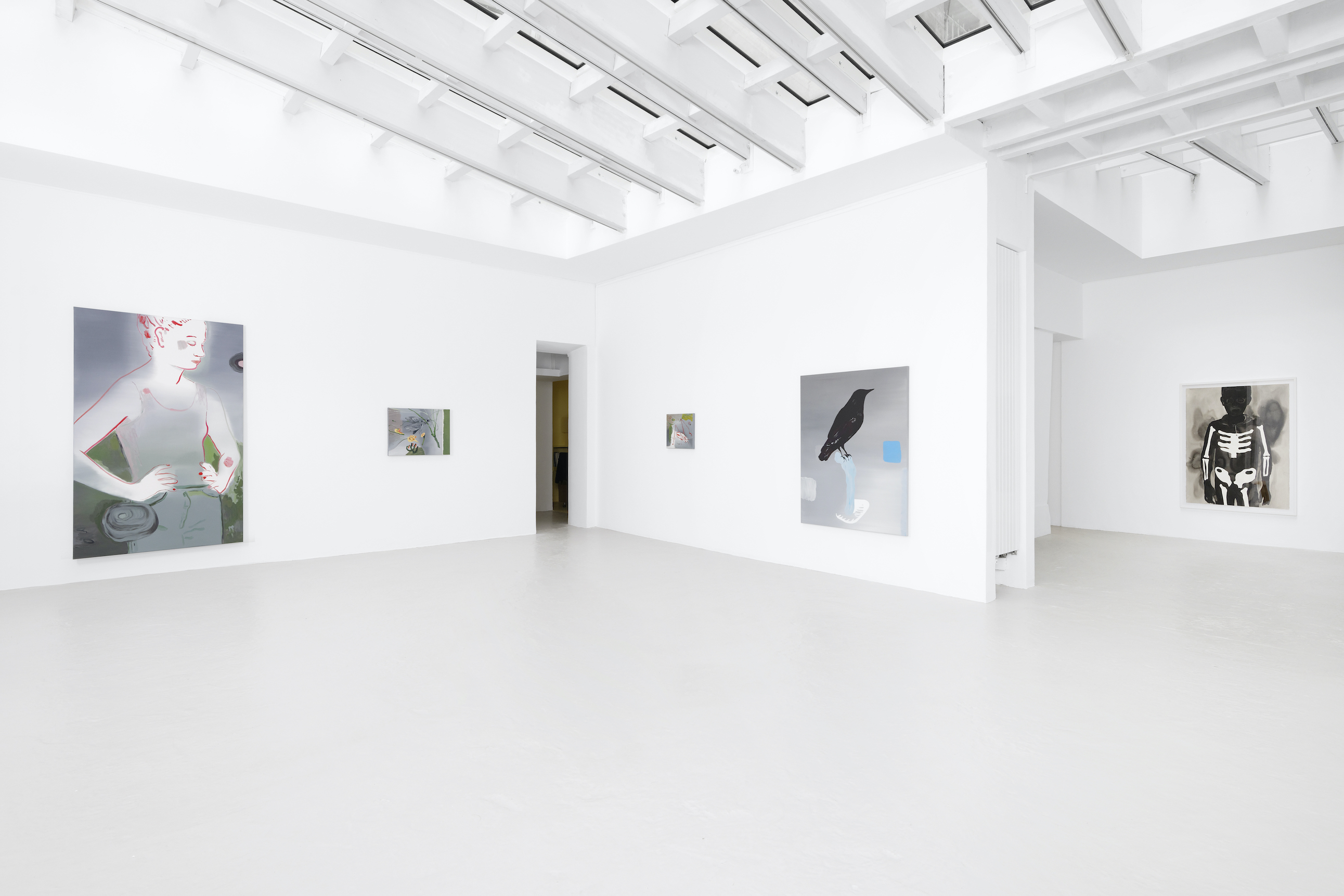 Installation view 2, Forget Me Not, 2020, Courtesy of the artist and Semiose