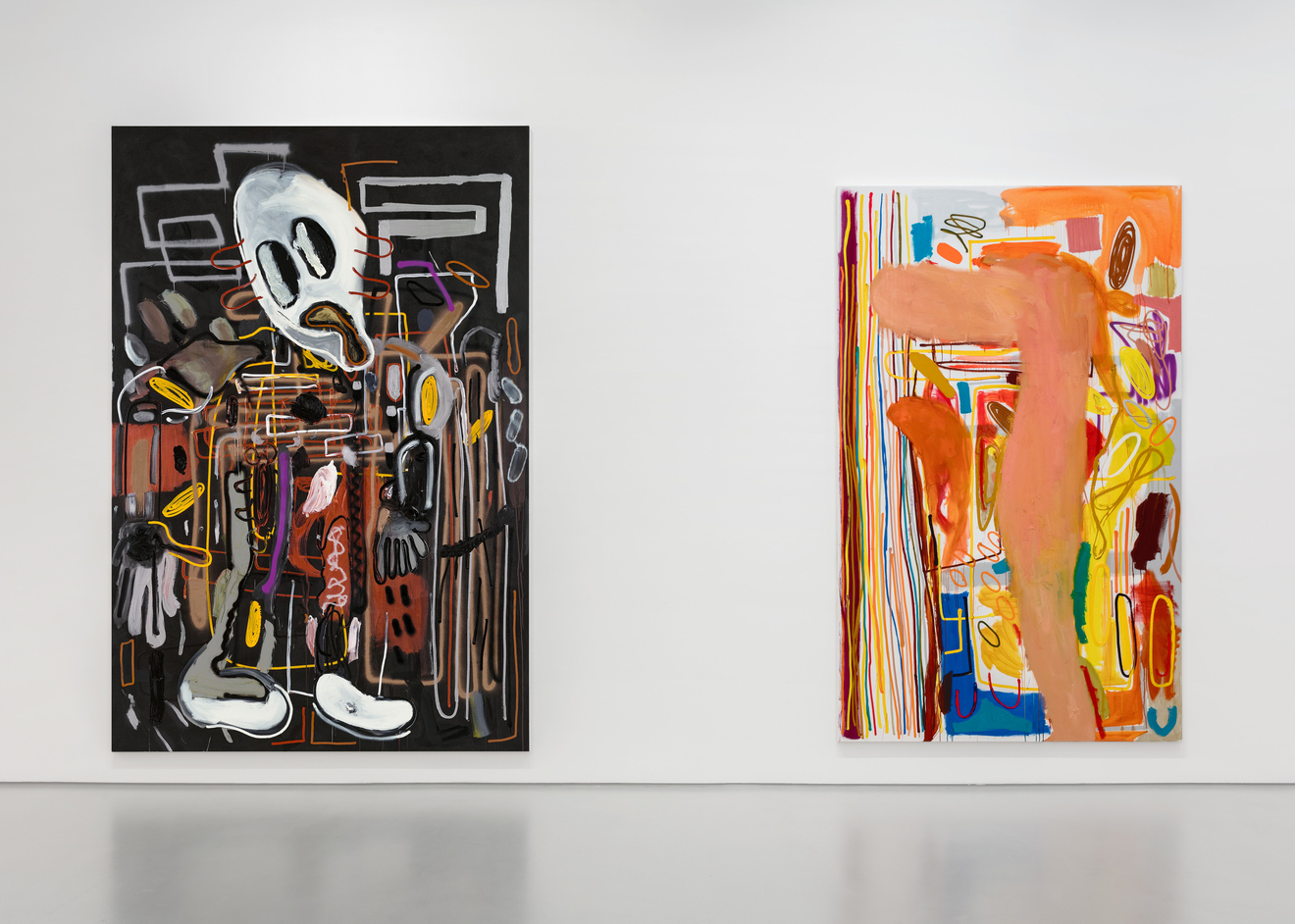 Installation view: André Butzler at Max Hetzler Paris. Courtesy of the artist and Max Hetzler. Photo: Claire Dorn