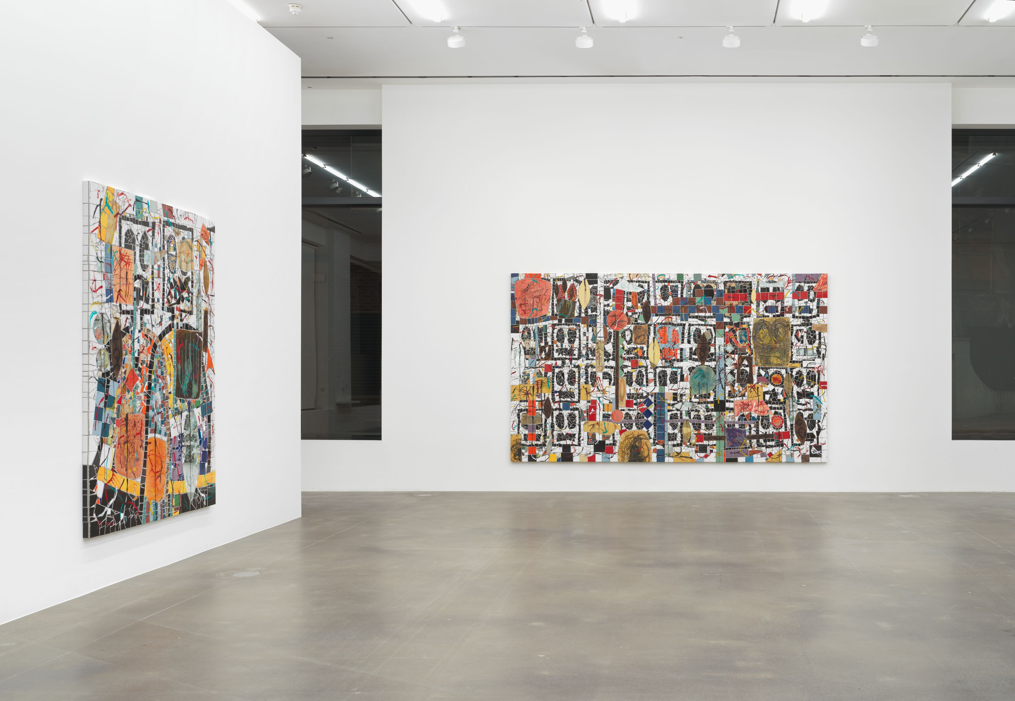 Installation view 3, Rashid Johnson, Waves, Hauser & Wirth London, Courtesy of the artist and Hauser & Wirth