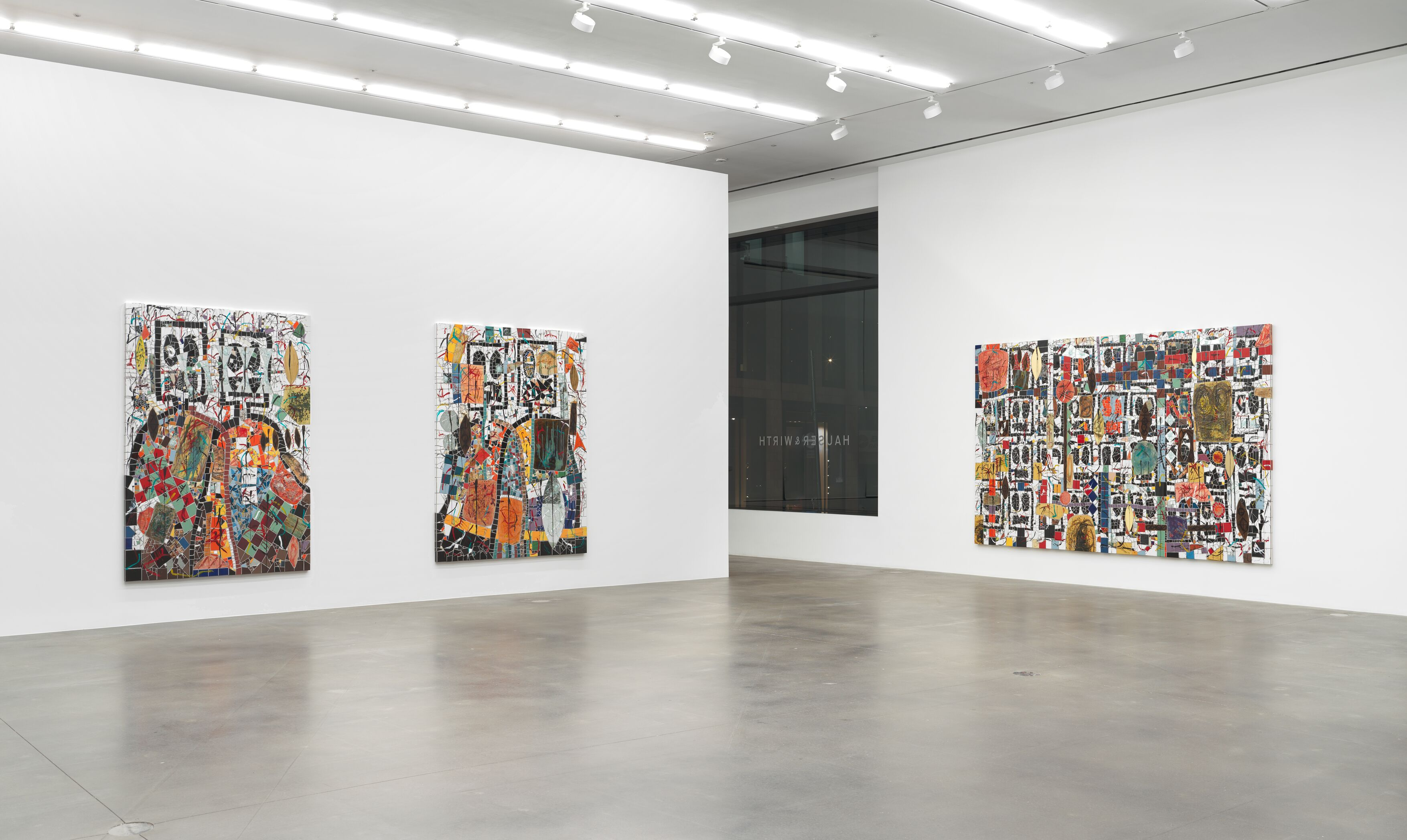 Installation view 7, Rashid Johnson, Waves, Hauser & Wirth London, Courtesy of the artist and Hauser & Wirth