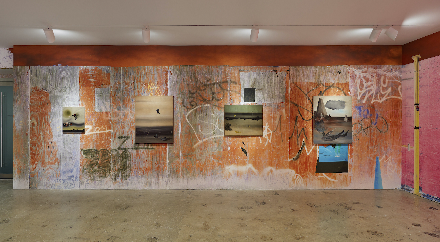 Installation view 1, SUPERUNKNOWN , 2020, Courtesy of Nahmad Contemporary