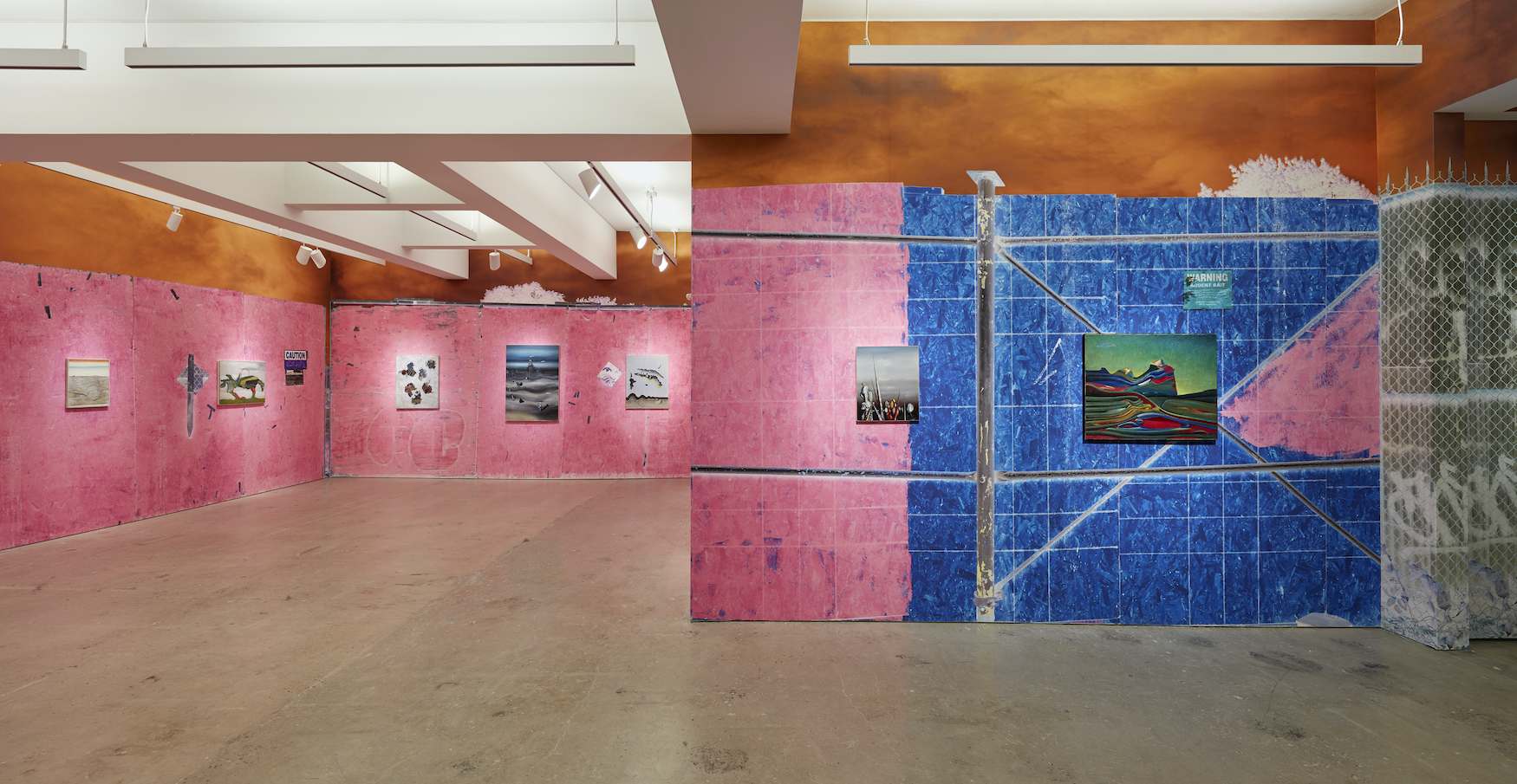 Installation view 2, SUPERUNKNOWN , 2020, Courtesy of Nahmad Contemporary