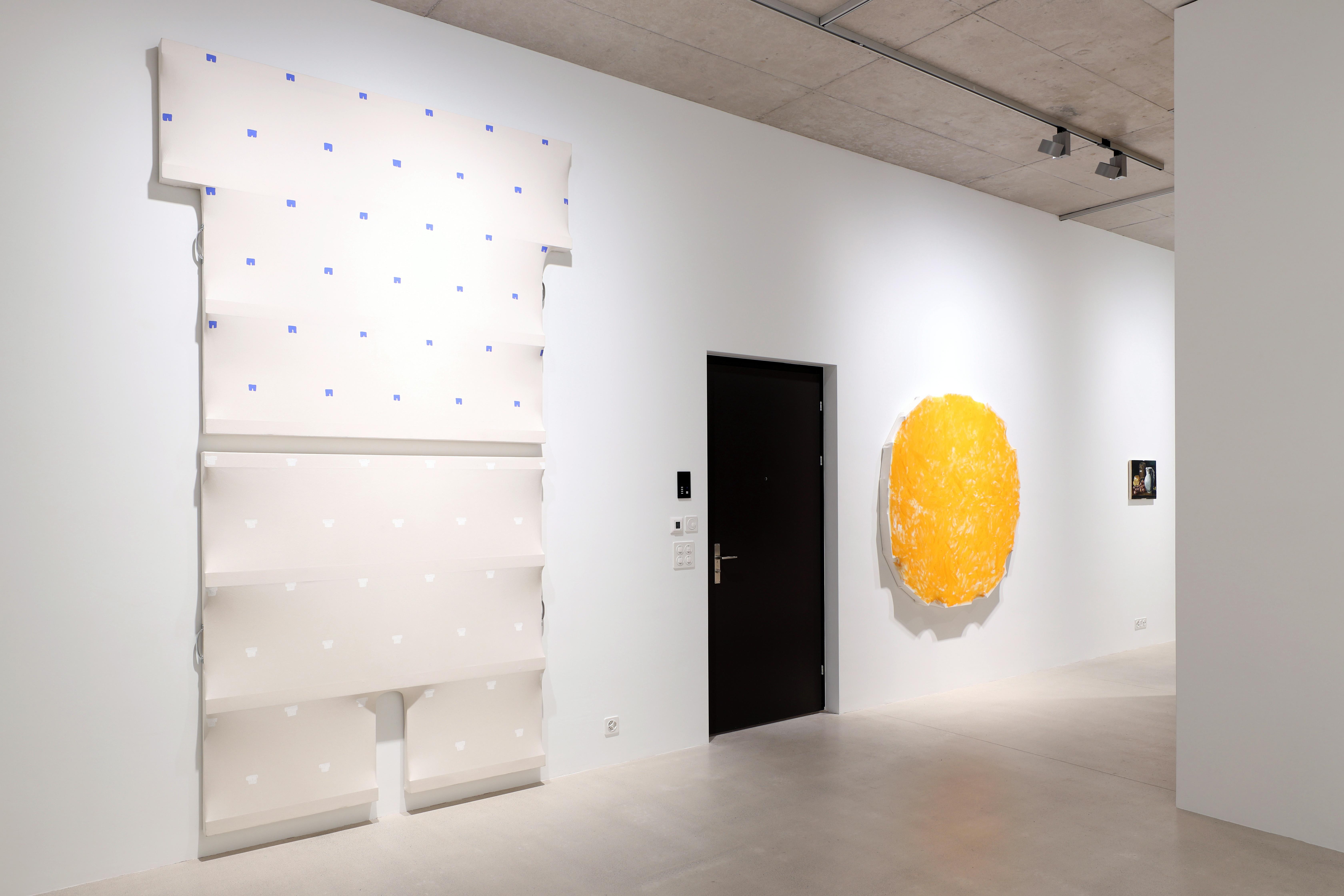 Charles Benjamin, Not Again, 2020, exhibition view, Windhager von Kaenel, Zurich, Switzerland