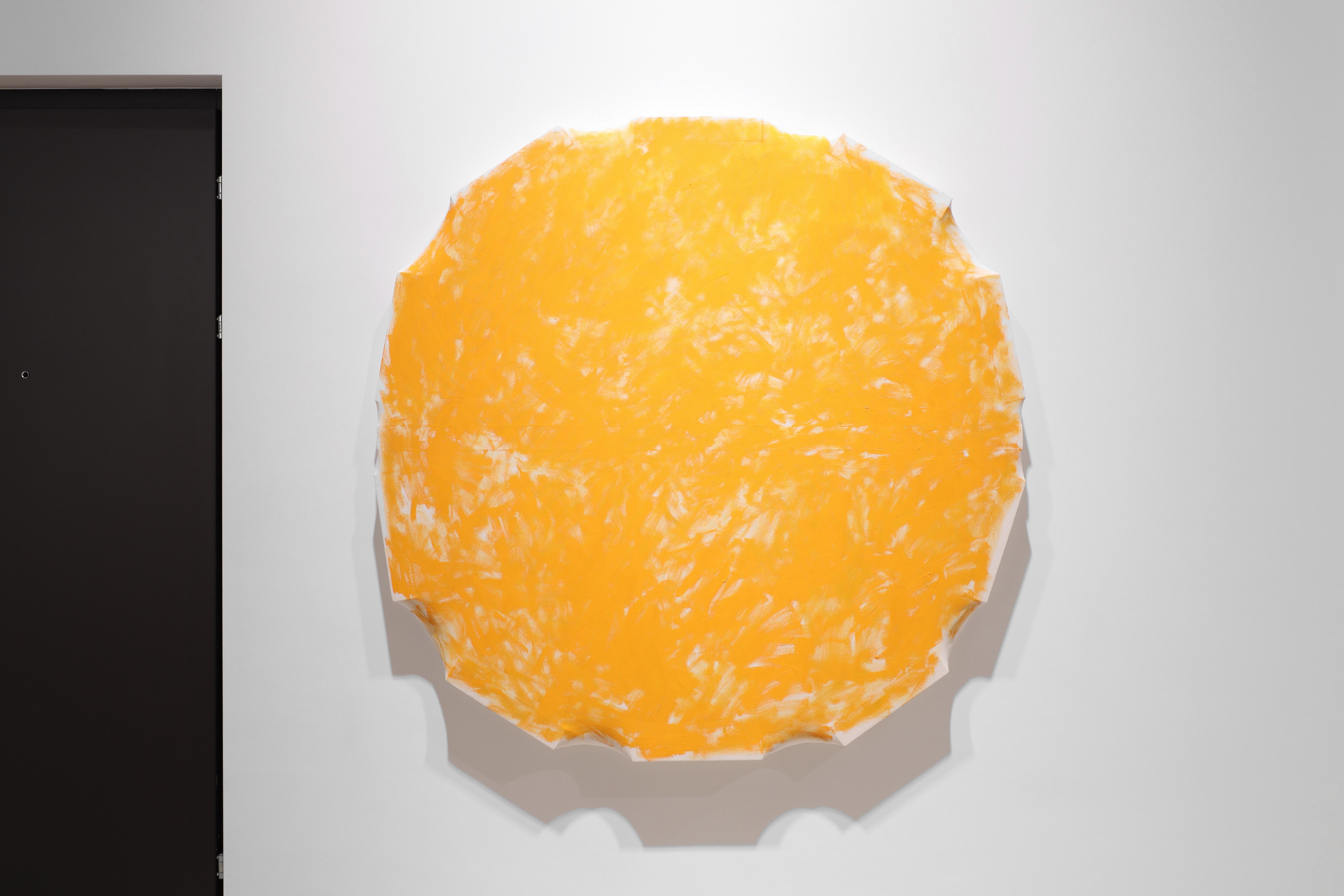Charles Benjamin, Solesito, 2020, oil on canvas, 150 x 150 x 10cm