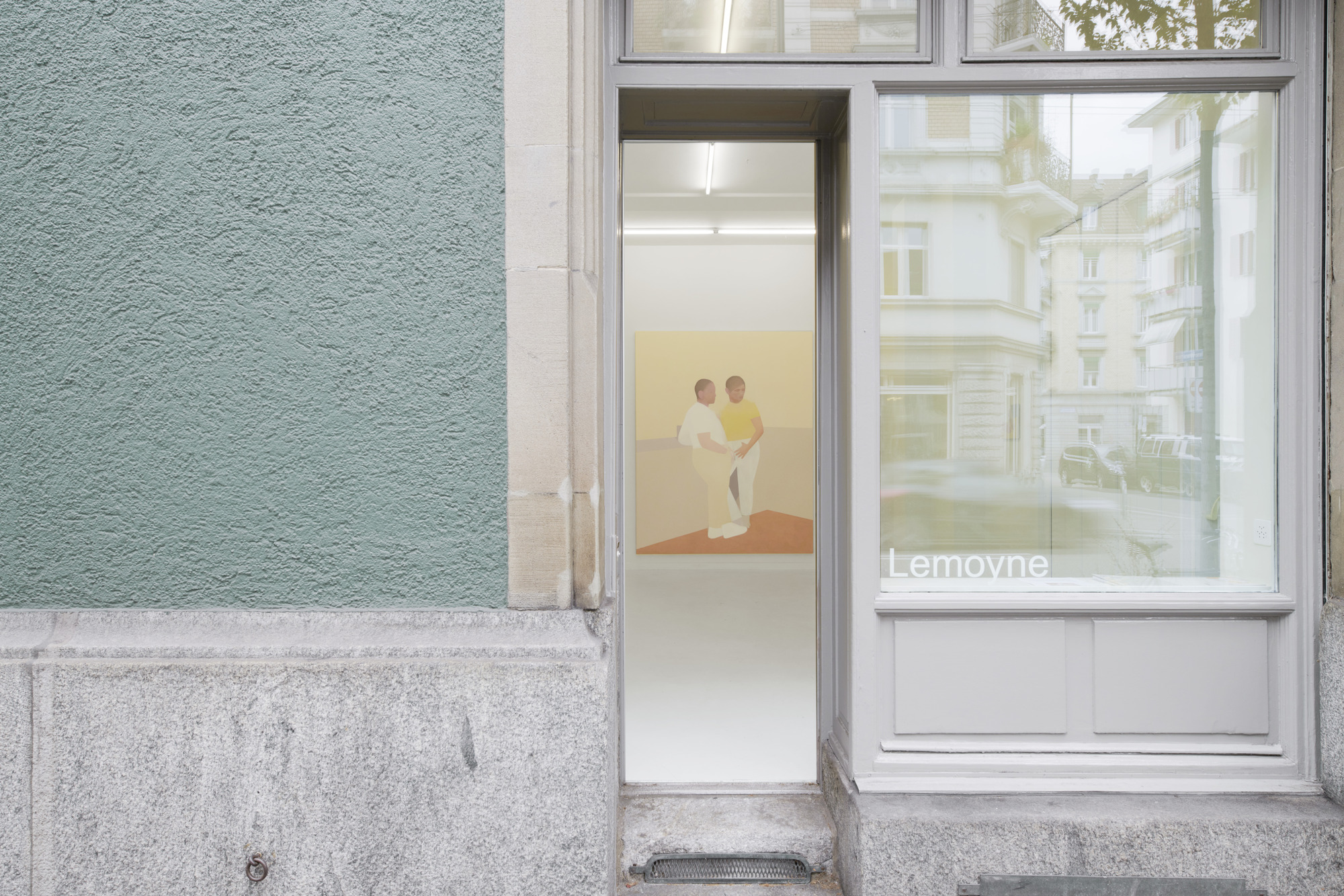 Manuel Stehli untitled, 2020, 240×190 cm, oil on canvas, Courtesy of the artist and Lemoyne